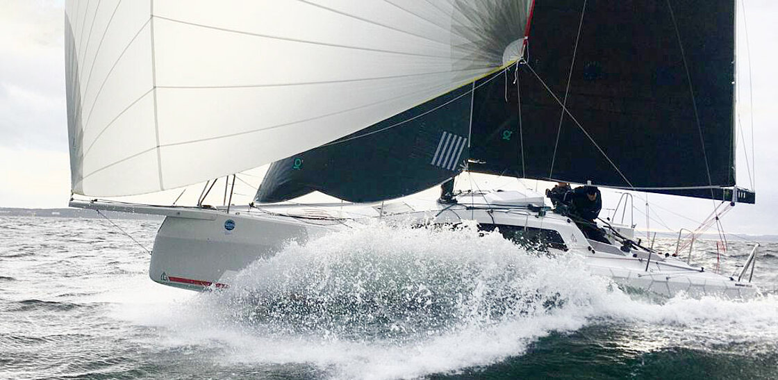 offshore yacht sail racing test day