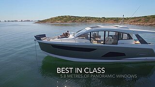 Sealine C530 - THE SPORTY CABRIOLET FOR THE SEA