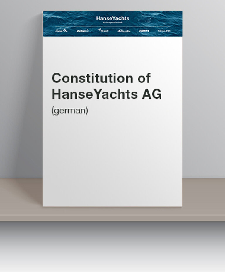 Constitution Image | HanseYachts AG