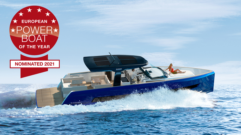 FJORD 41 XL nominated as European Powerboat of the Year 2021