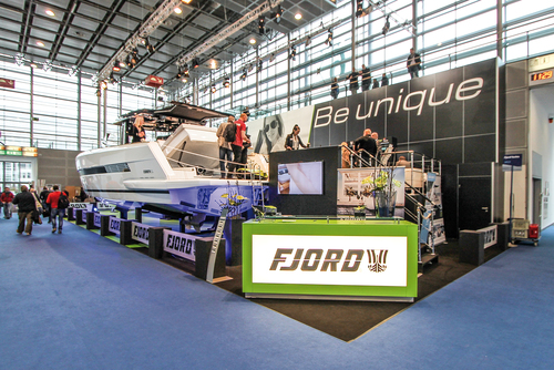 Experience FJORD Power Boats in person at a Boat show