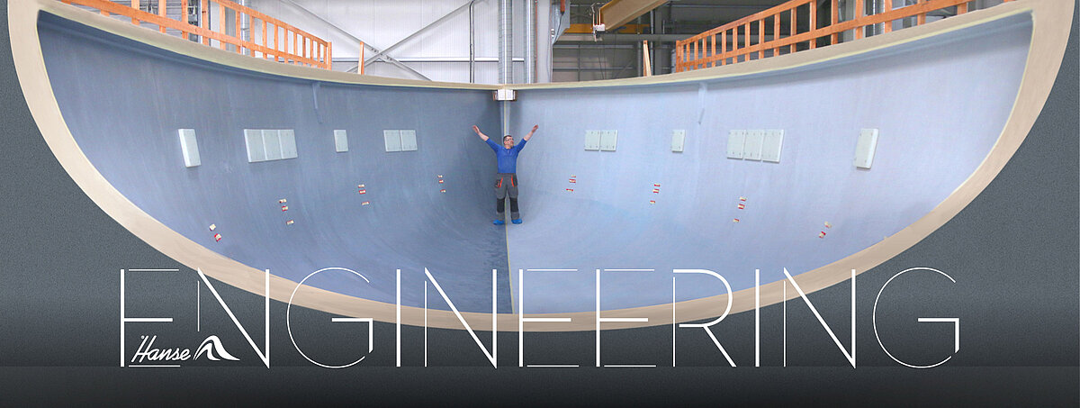 Hanse sailing yachts are engineering masterpieces with crafted with amazing detail