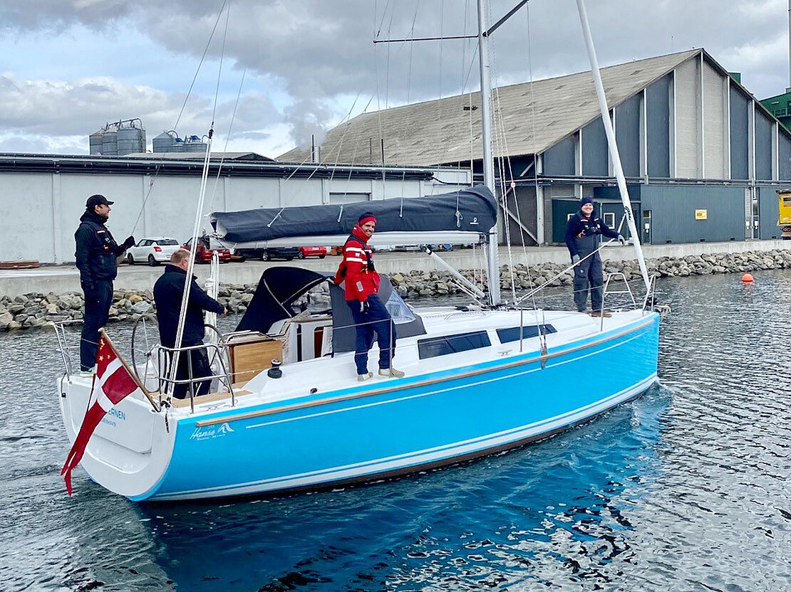 New sailing boat for for the new generation of sailors from Maersk