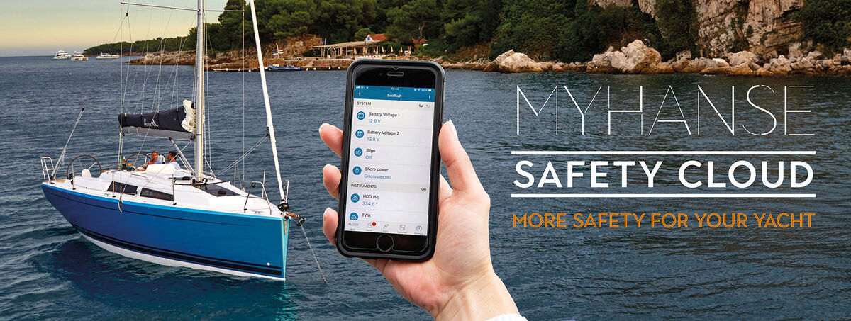 Innovative cloud yacht technology ensuring safety and service