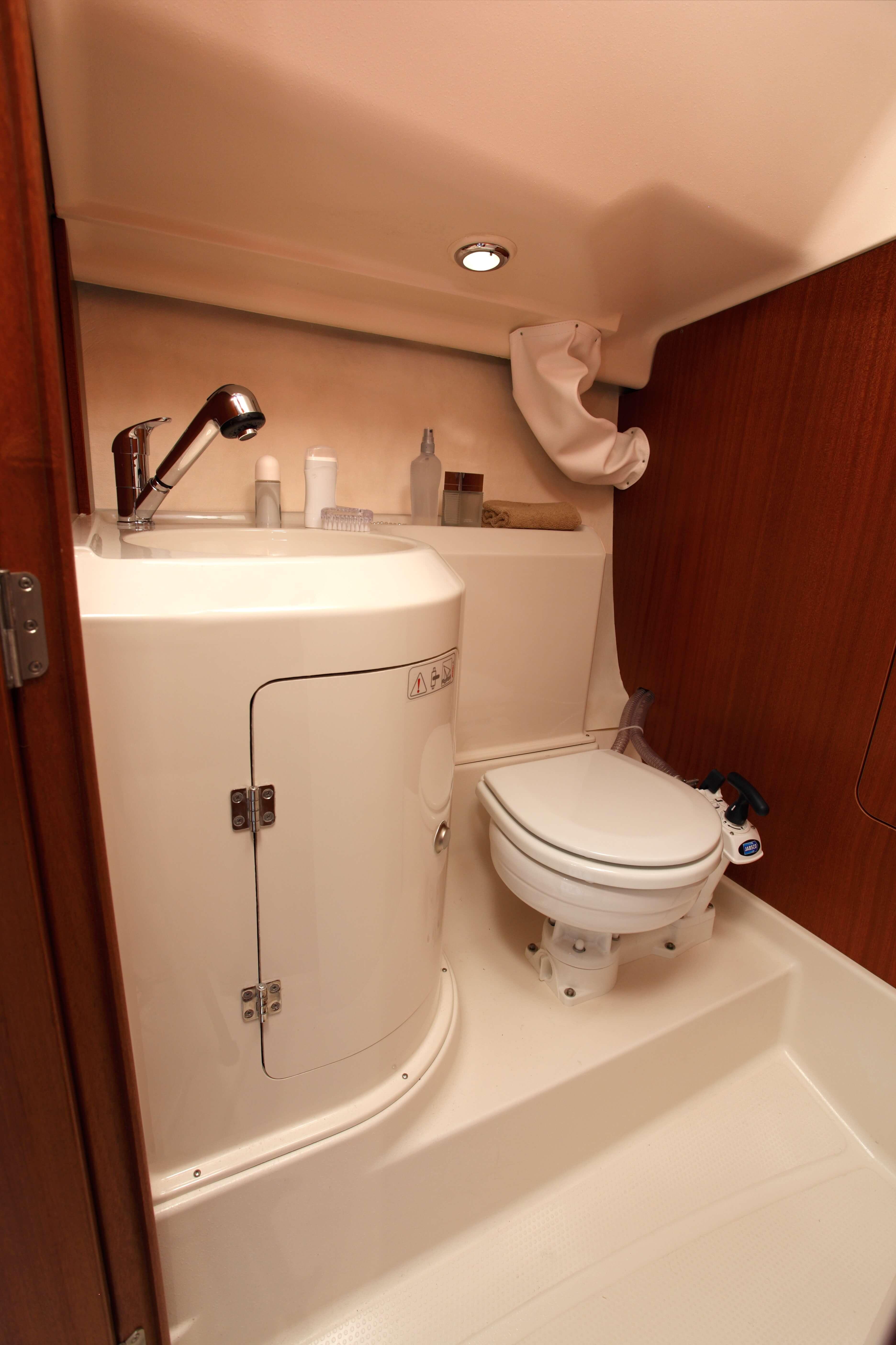 Dehler 29 Vista interior celula mojada | WC, fregadero | Dehler