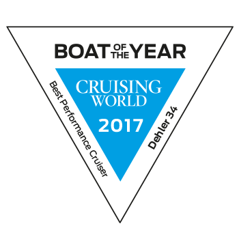 Dehler 34 Boat of the Year | Best Performance Cruiser - Cruising World 2017 | Dehler
