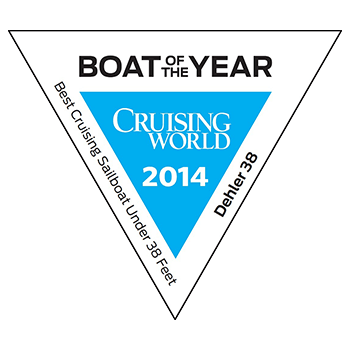 Dehler 38 Boat of the Year | Best Cruising Sailboat under 38 feet 2014 | Dehler