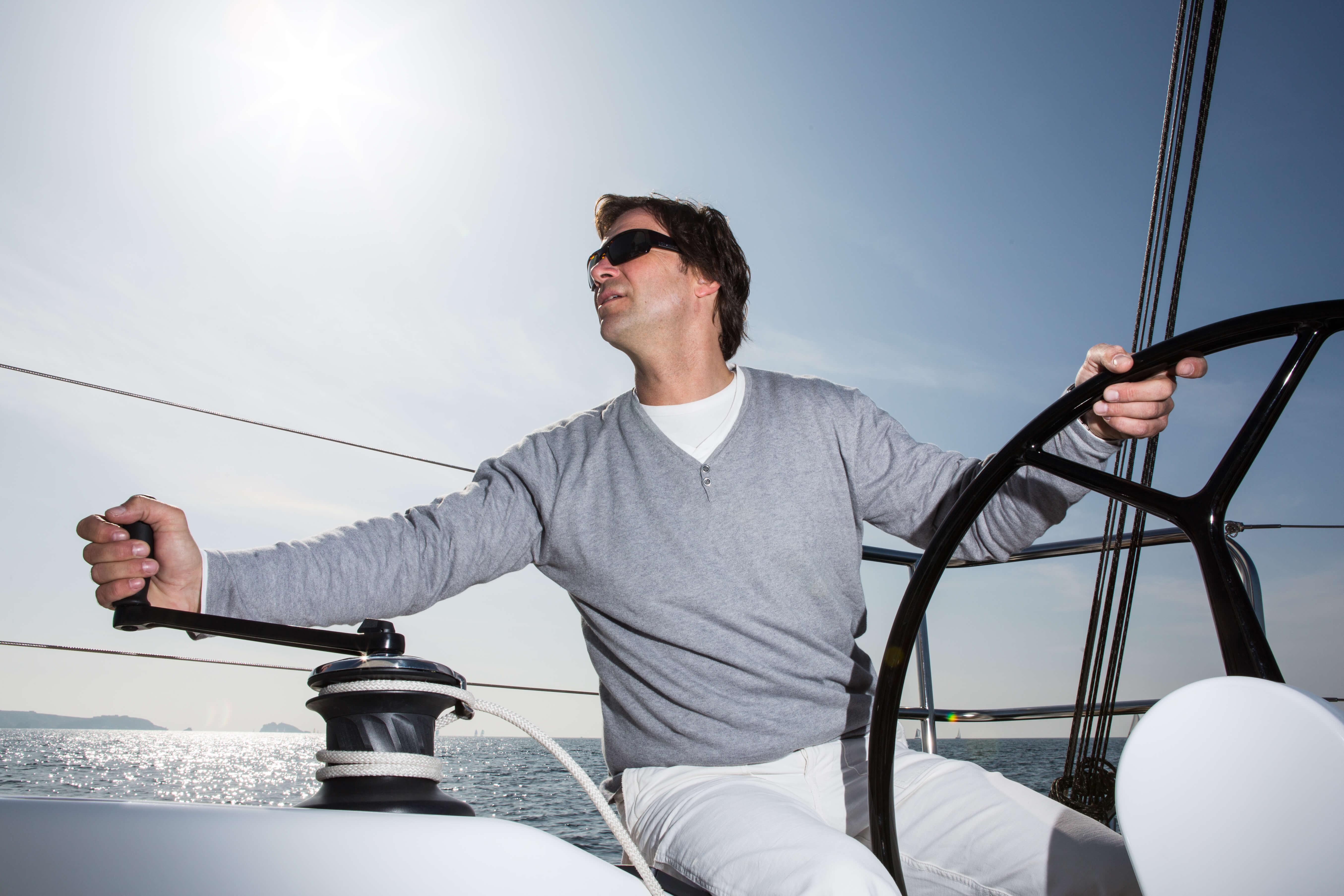 Dehler 38 Exterior Sailing | carbon steering wheel | Dehler