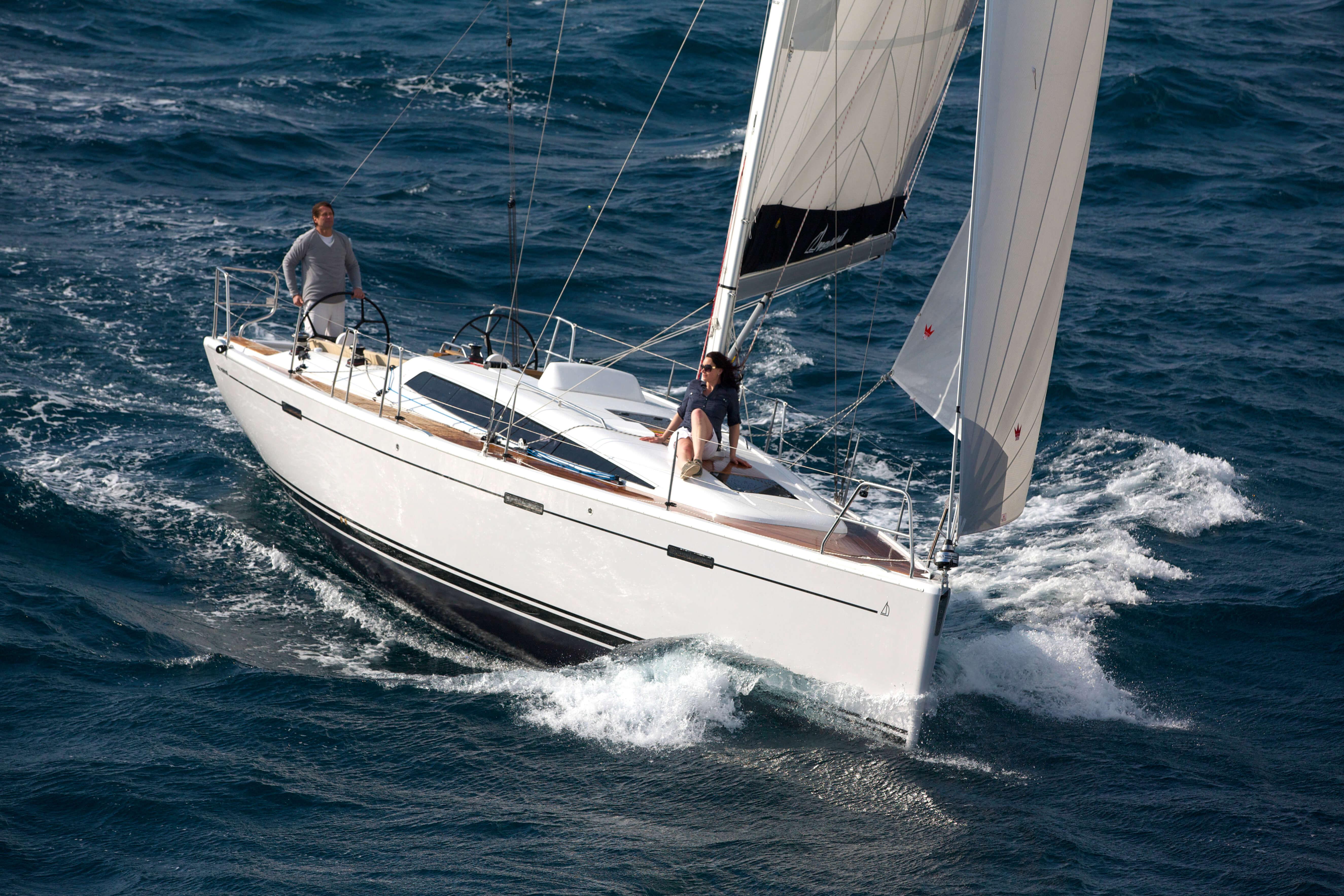 Dehler 38 Exterior Sailing | Gennaker | Dehler
