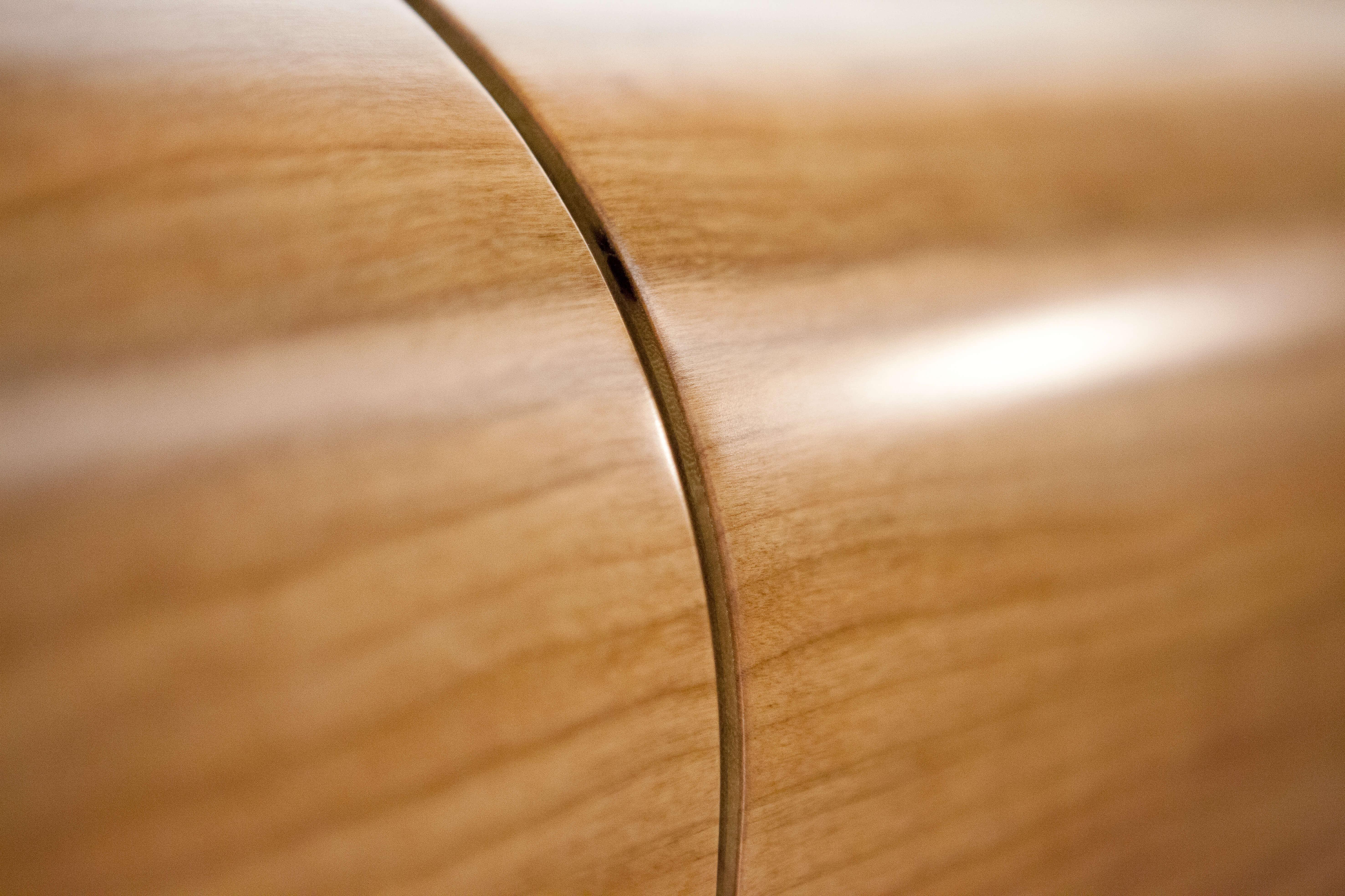 Dehler 42 Interior view lounge | teak, storage compartment | Dehler