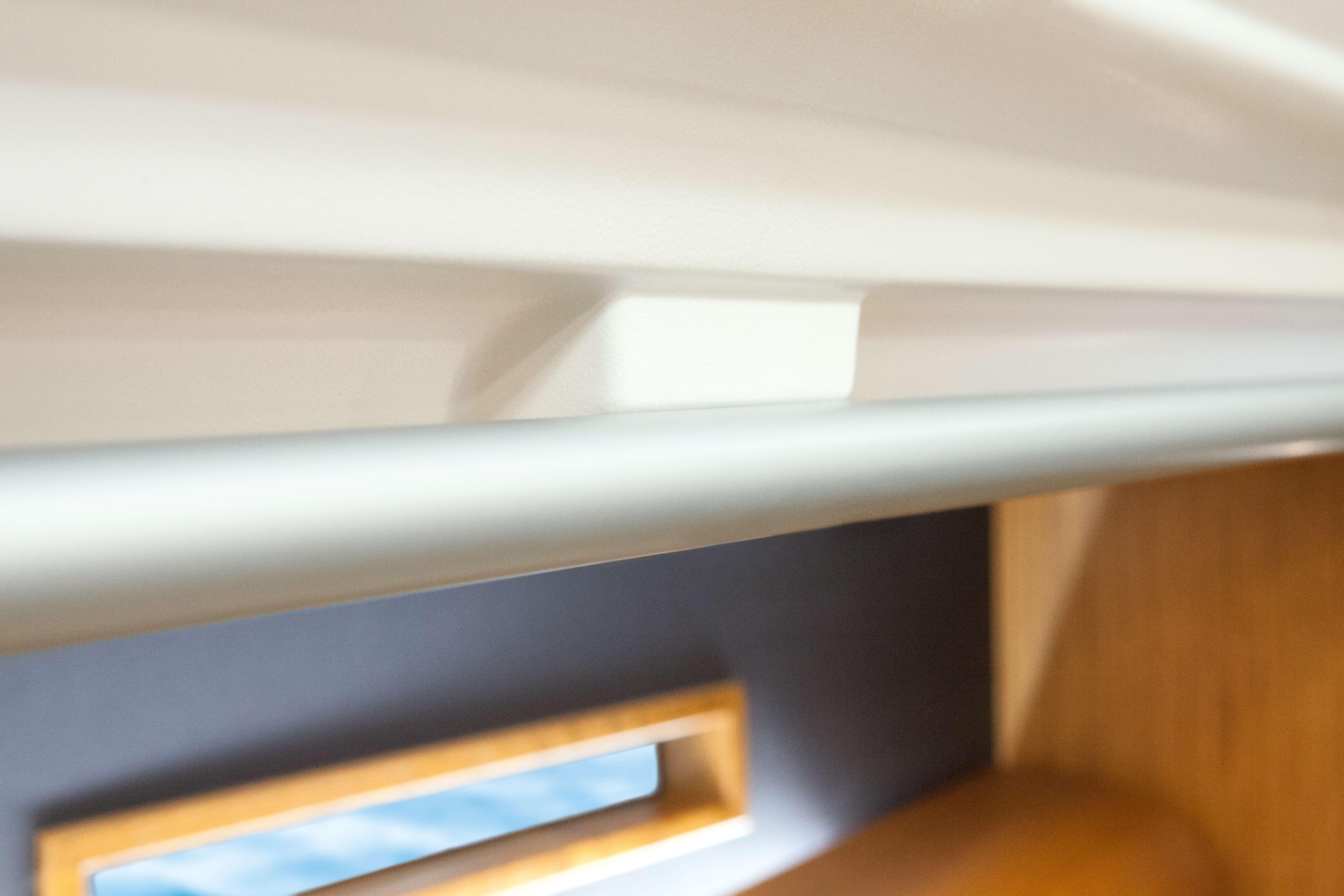 Dehler 42 Interior view lounge | shelf, window | Dehler