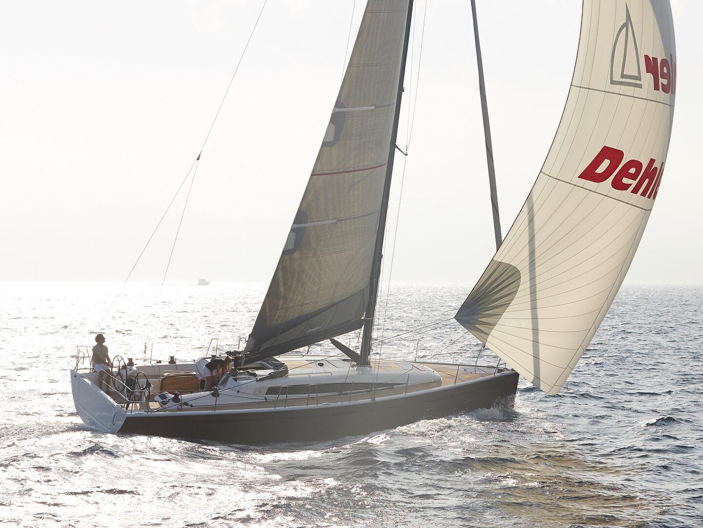 Dehler 46 Exterior Sailing | Gennaker | Dehler