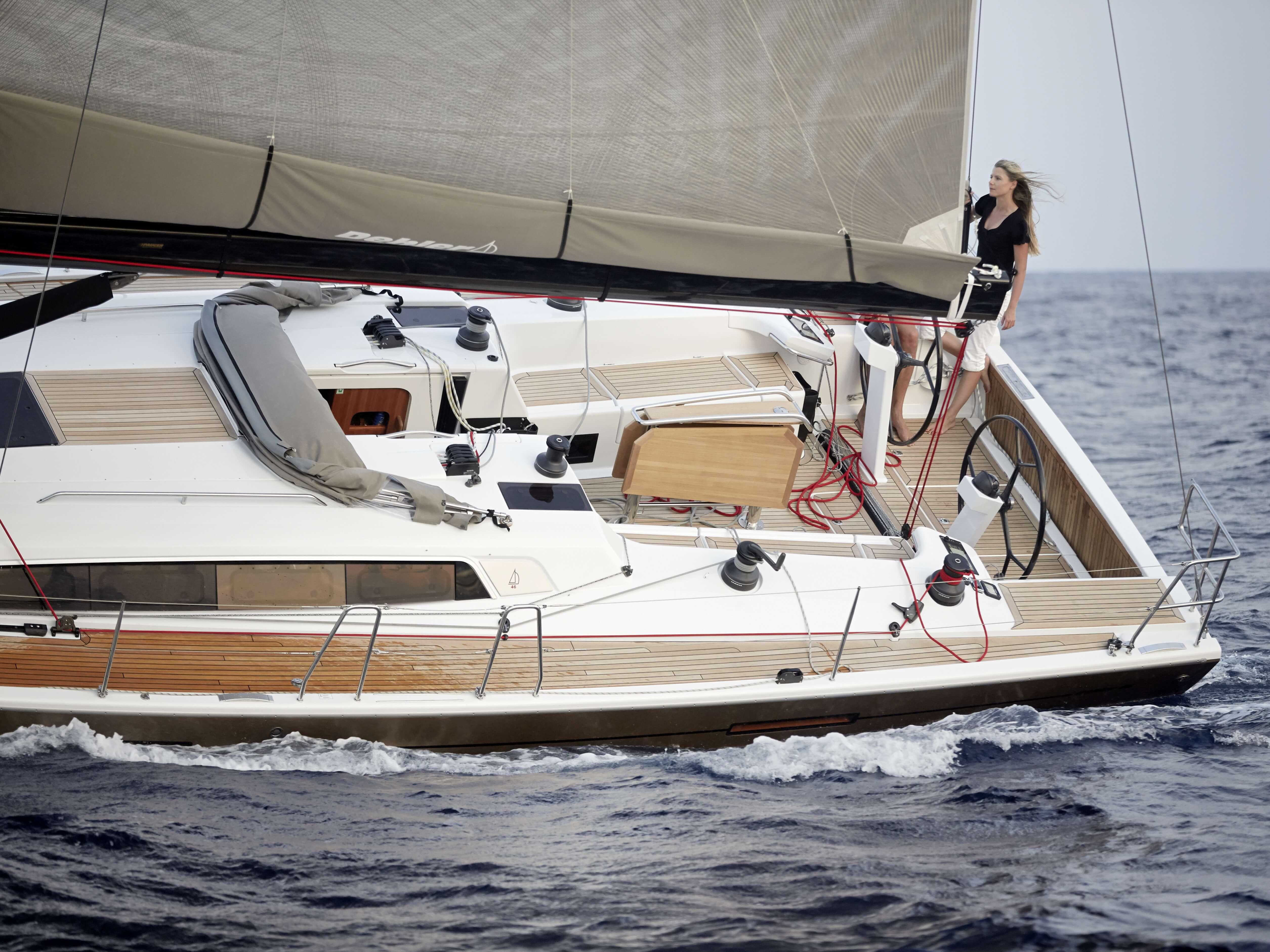 Dehler 46 Exterior Sailing | deck, cockpit | Dehler