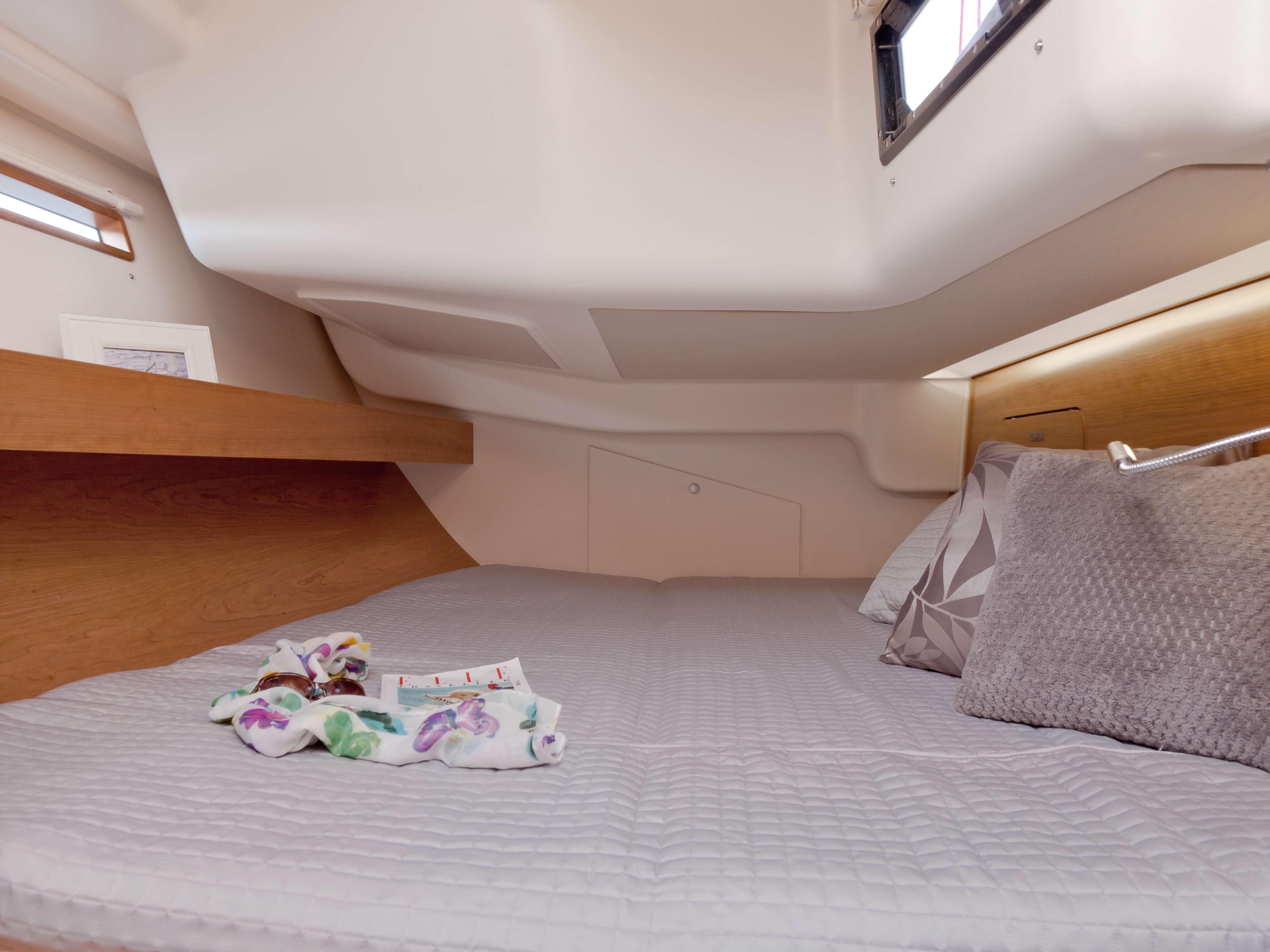 Dehler 46 Vista interior cabina da popa | cama doble | Dehler