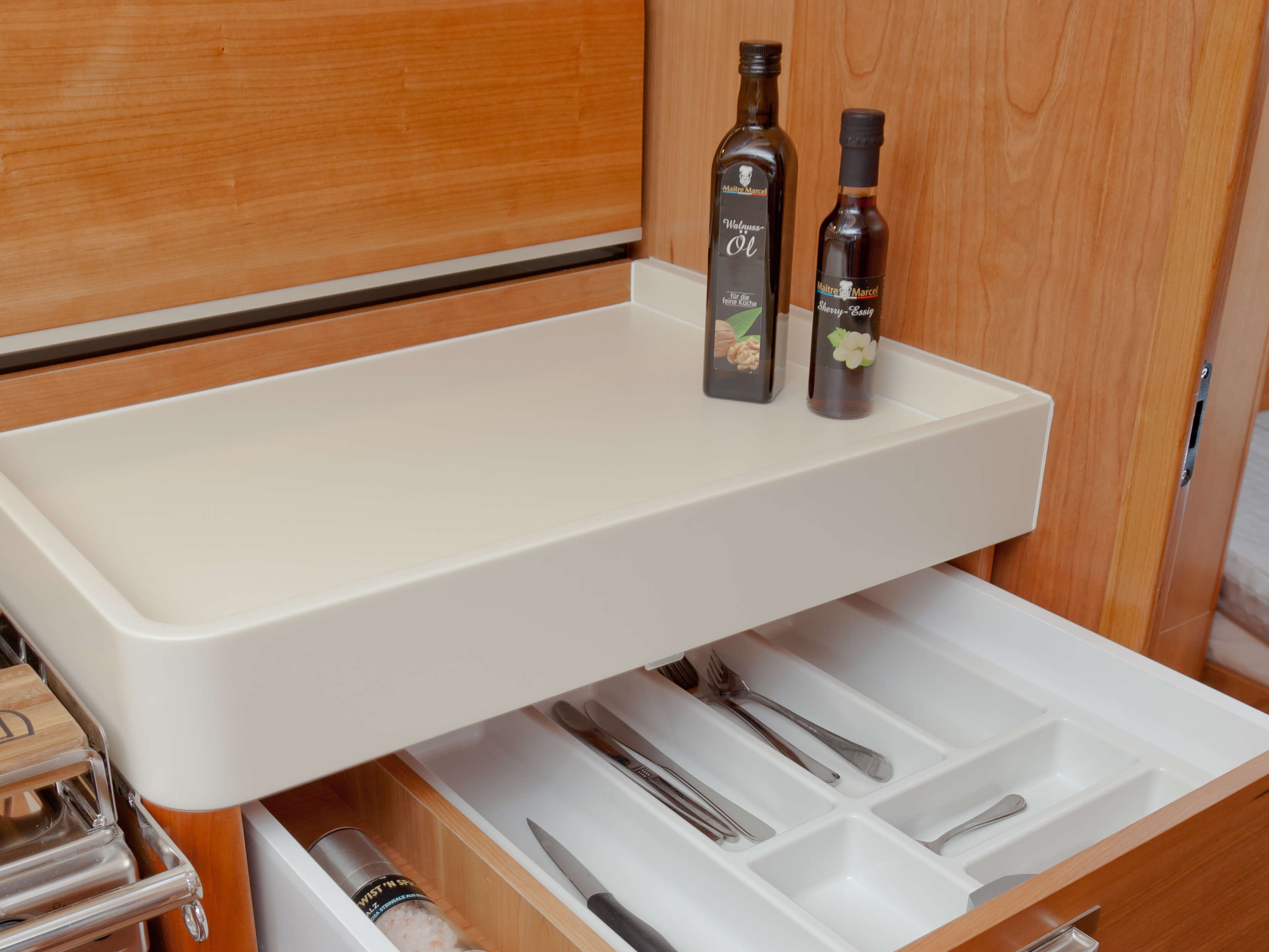 Dehler 46 Interior view pantry | storage compartment | Dehler