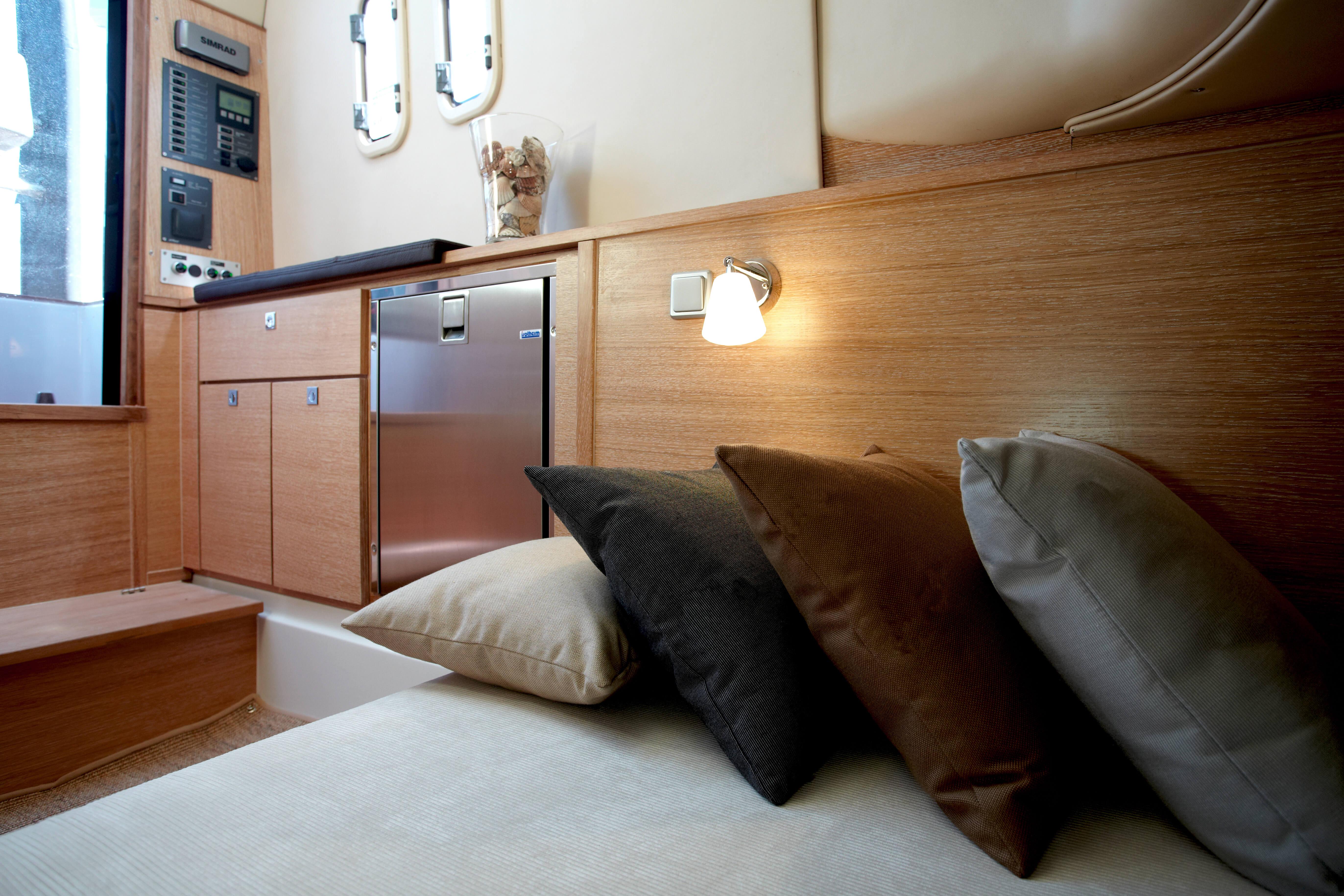 Fjord 36 open Intérieur cabine