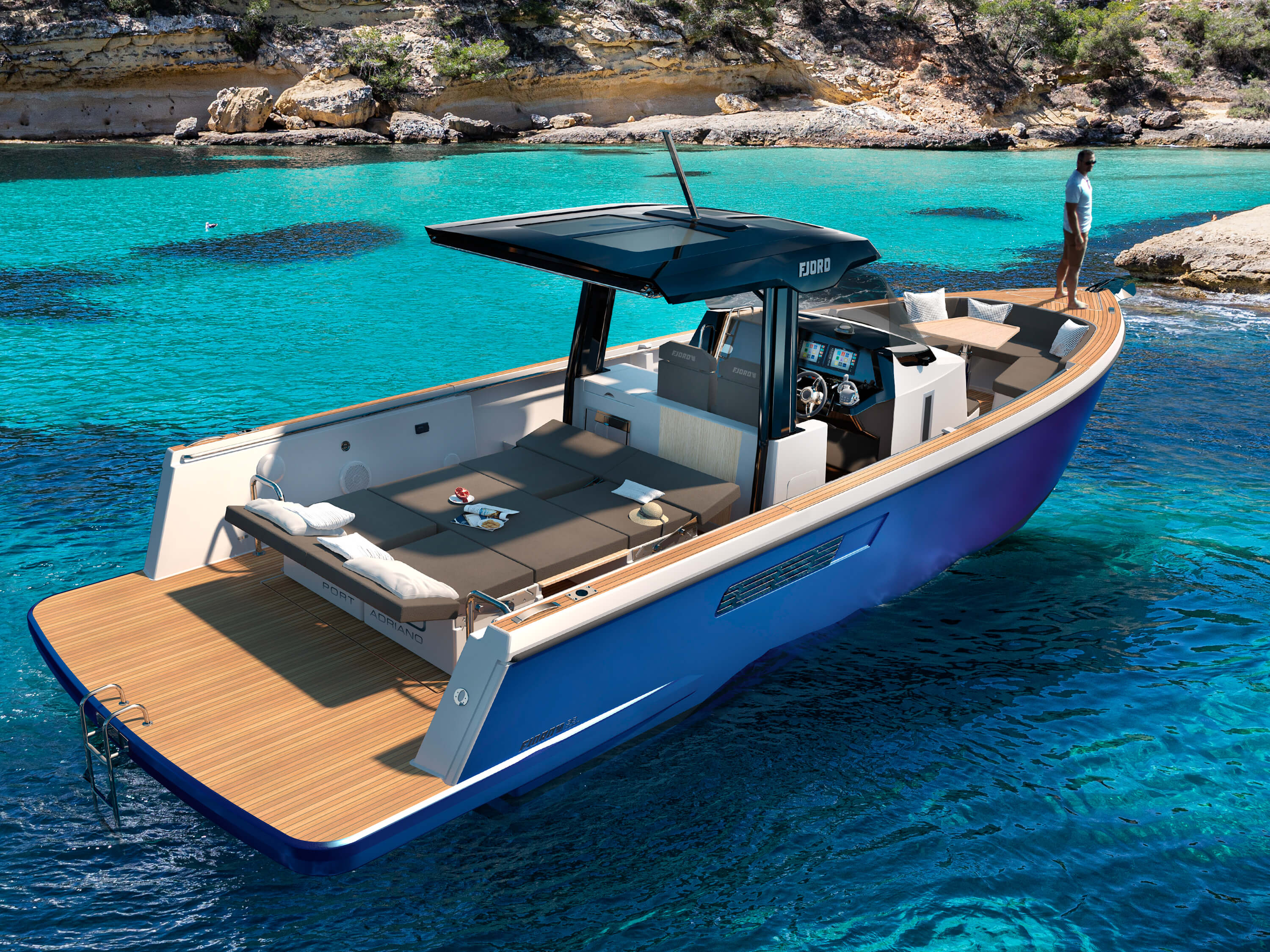 Fjord 38 open | Fjord
