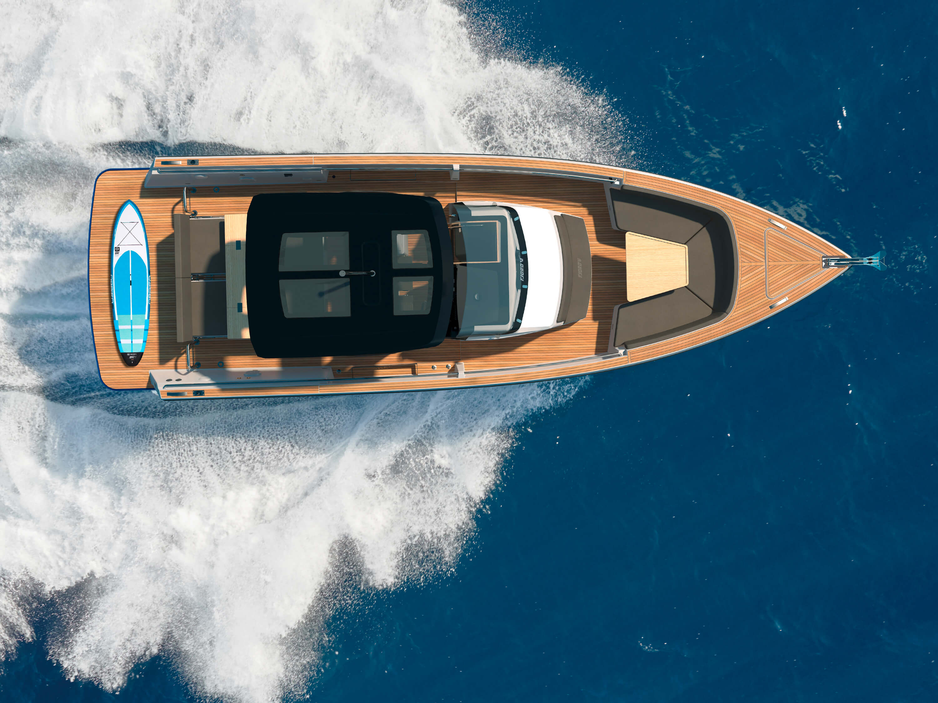 FJORD 38 open exterior | Bird's eye view | Fjord