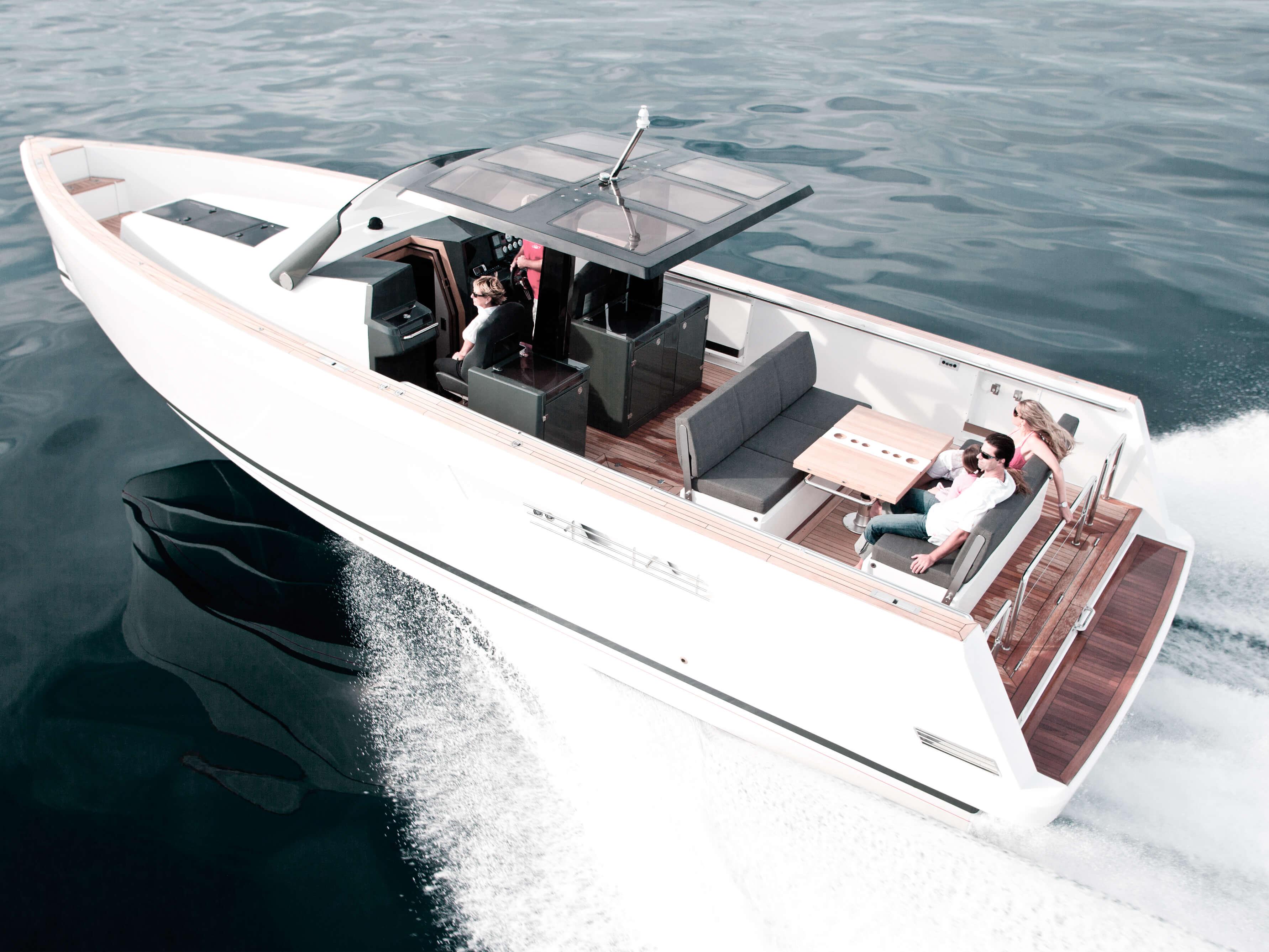 Fjord 40 open Exterior ride | cockpit, rear | Fjord