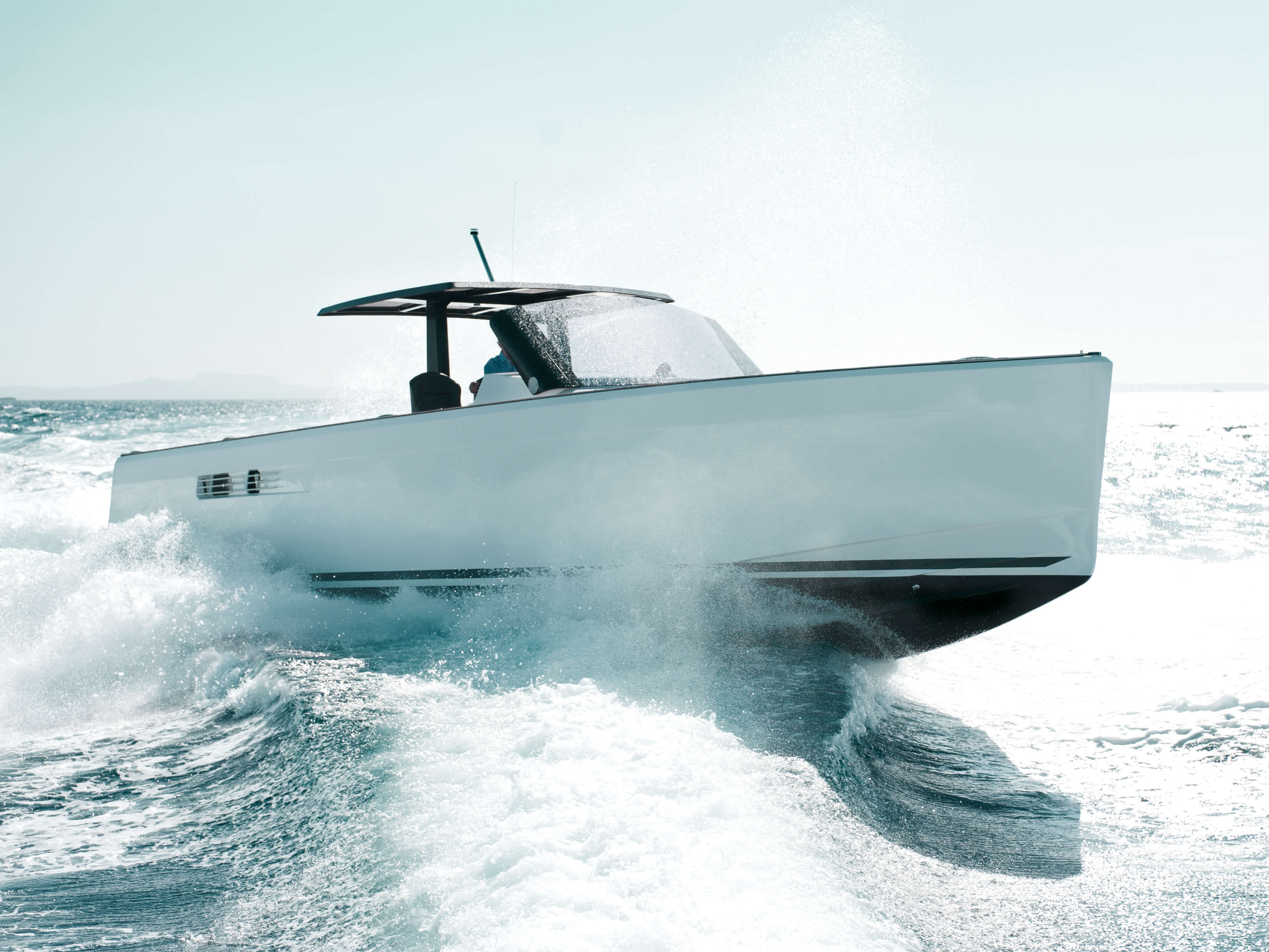 Fjord 40 open Exterior ride | cockpit, bow | Fjord