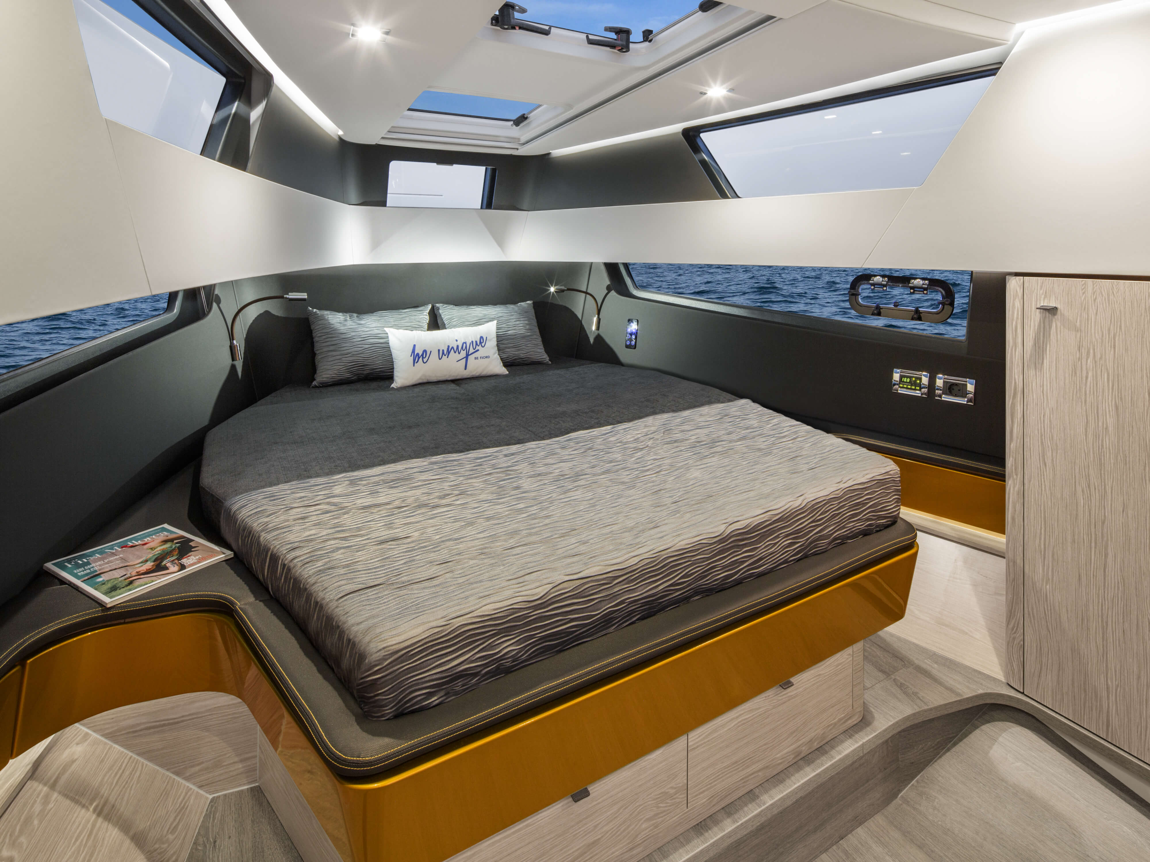 FJORD 41 XL owner's cabin