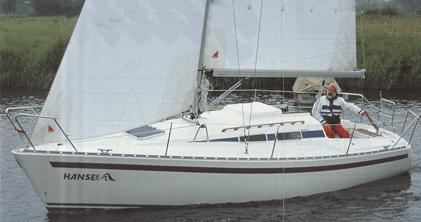 Hanse 291 Exterior Sailing | Hanse