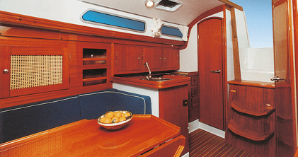 Hanse 311 Interior view lounge | Hanse