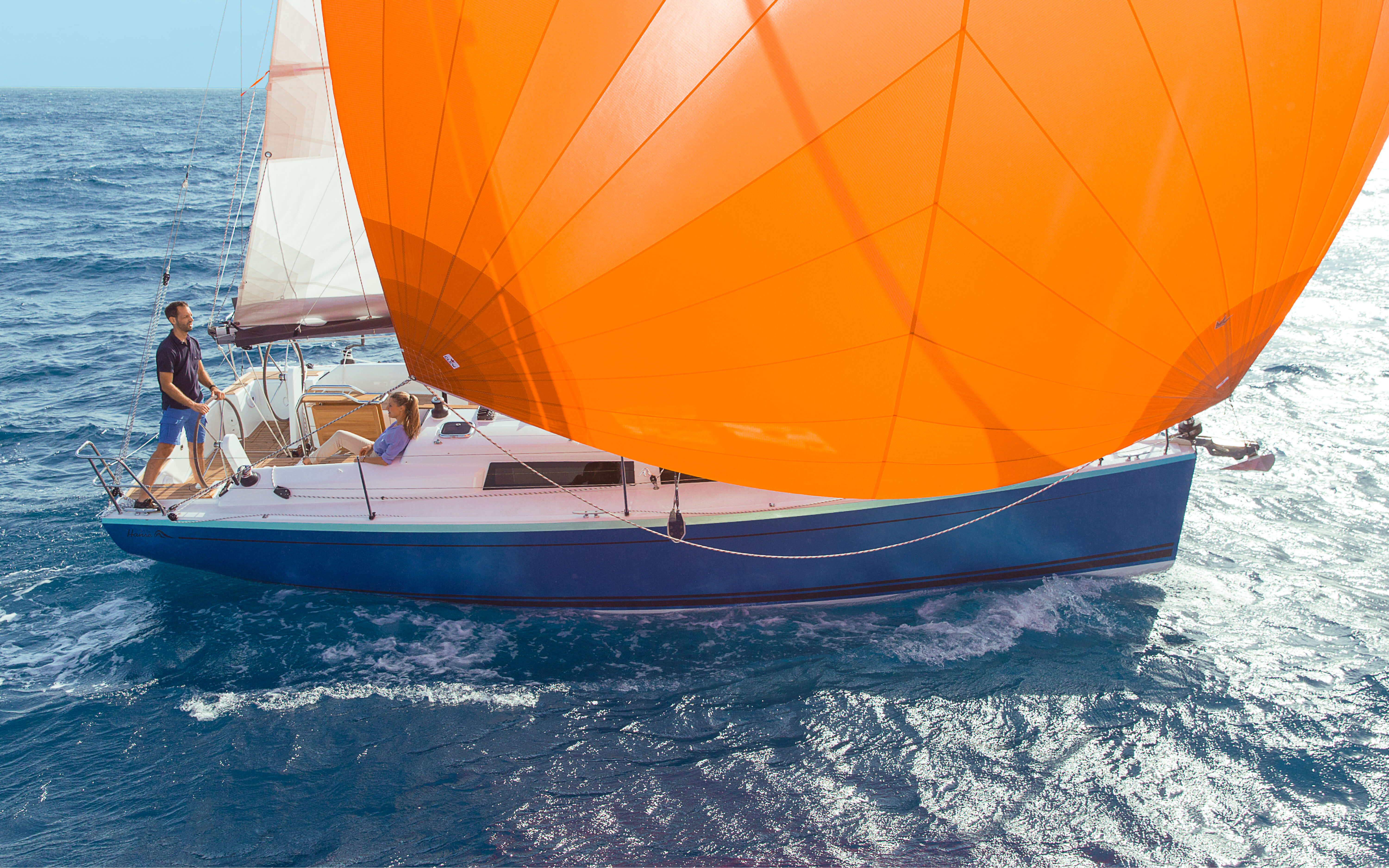 Hanse_315_2015_09_Exterior_Web_6.jpg | HANSE yachts amaze with their modern, functional design. Unique, puristic elegance meets exceptional performance from the pen of judel/vrolijk & co, the world's best and most experienced yacht designers. | Hanse