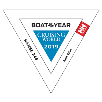 Hanse 348 - Boat of the Year (Cruising World) 2019 | BEST VALUE | Hanse