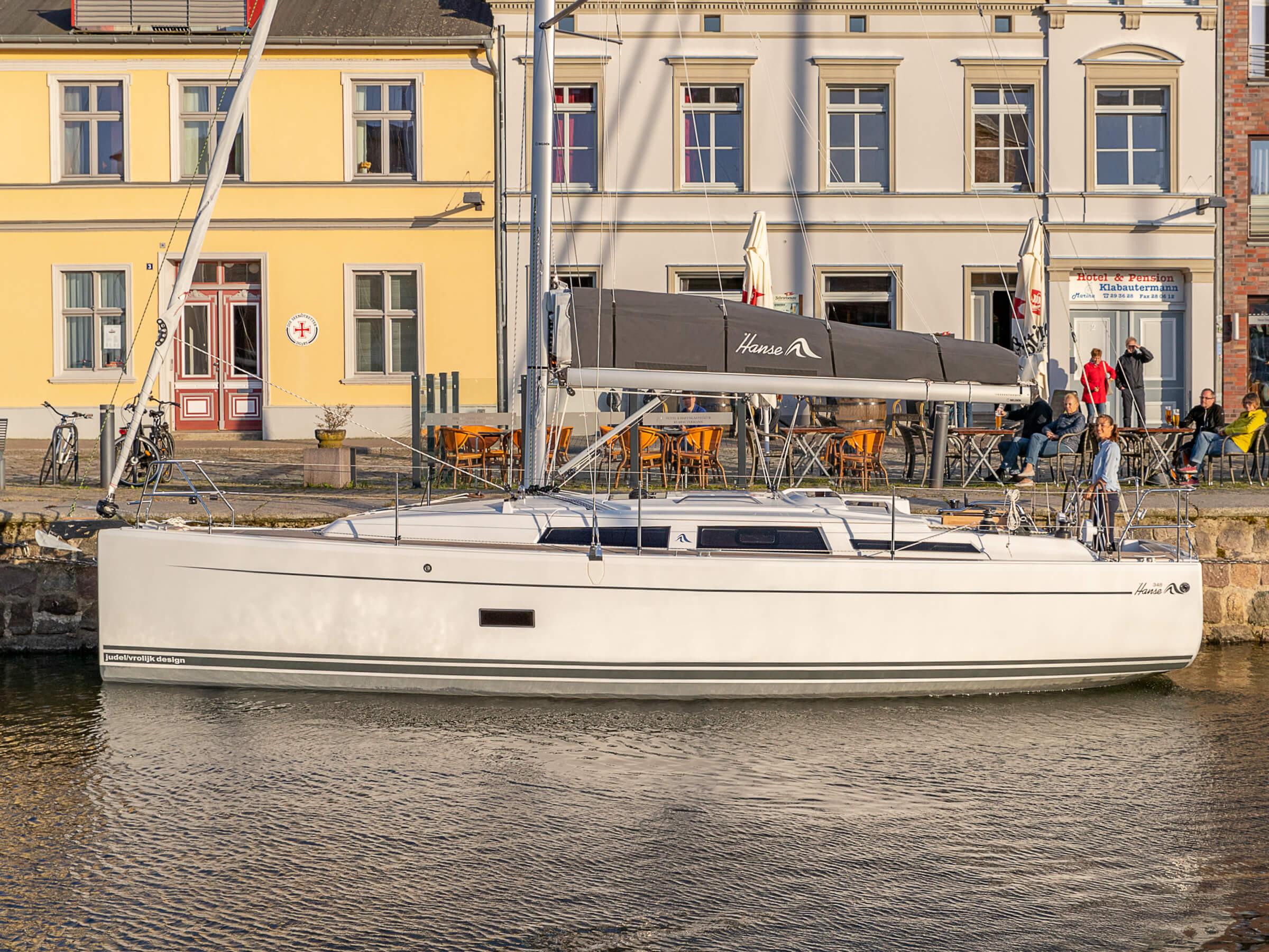 Hanse 348 | Внешний вид | Hanse