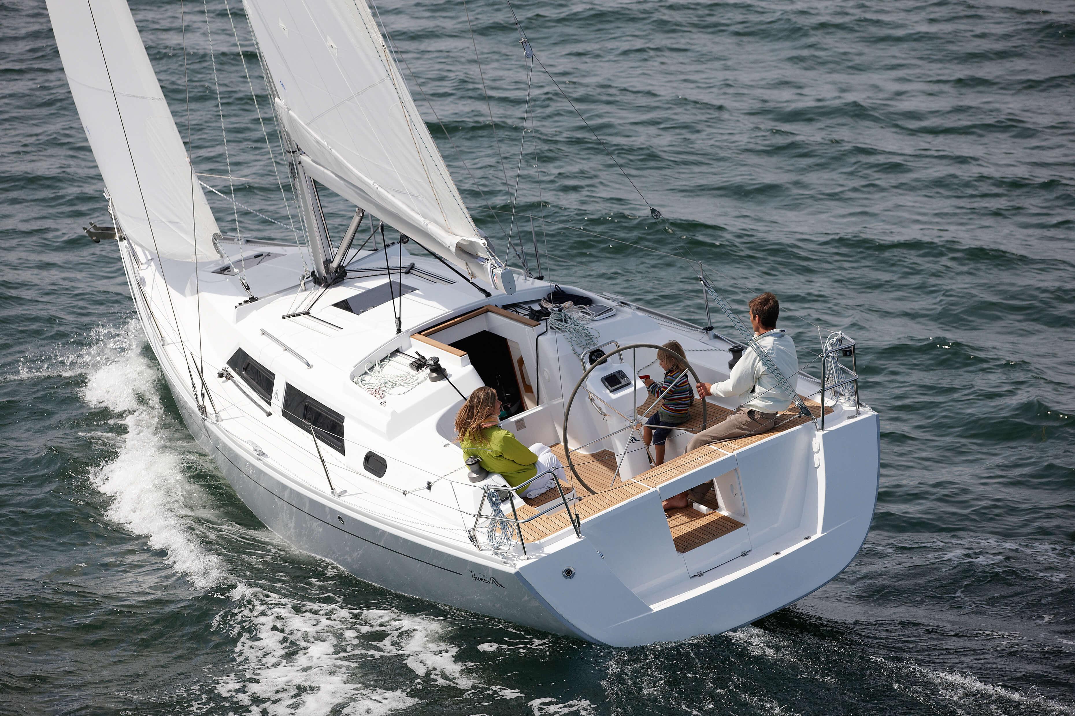 Hanse 355 Exterior Sailing   Hanse