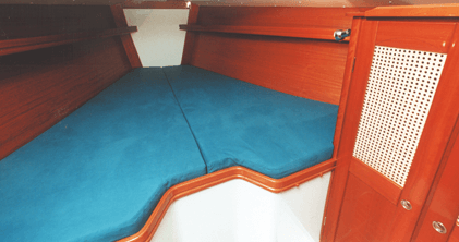 Hanse 371 DS Interior view owner´s cabin | Hanse