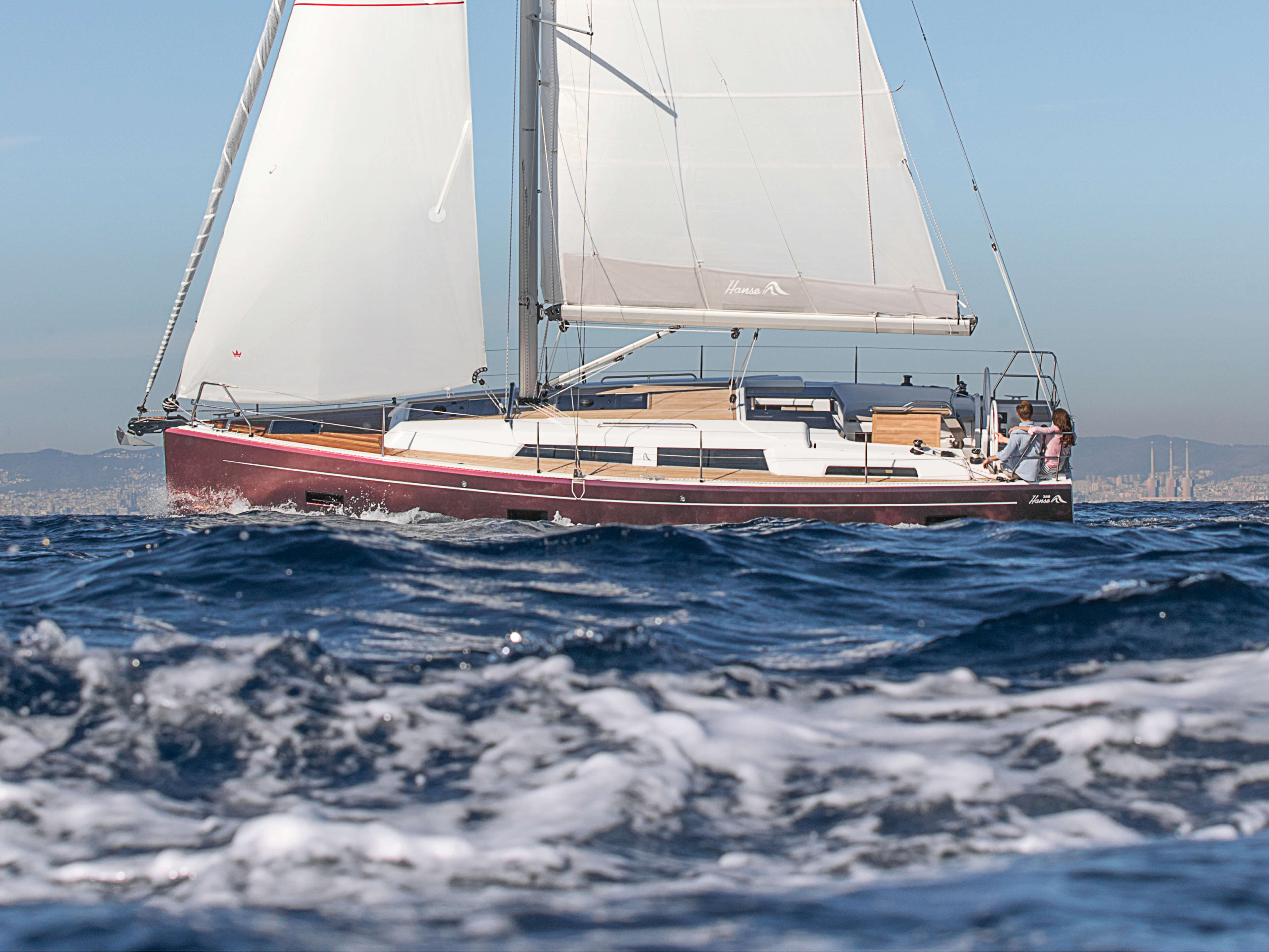 Hanse 388 | Esterno Vela | Hanse