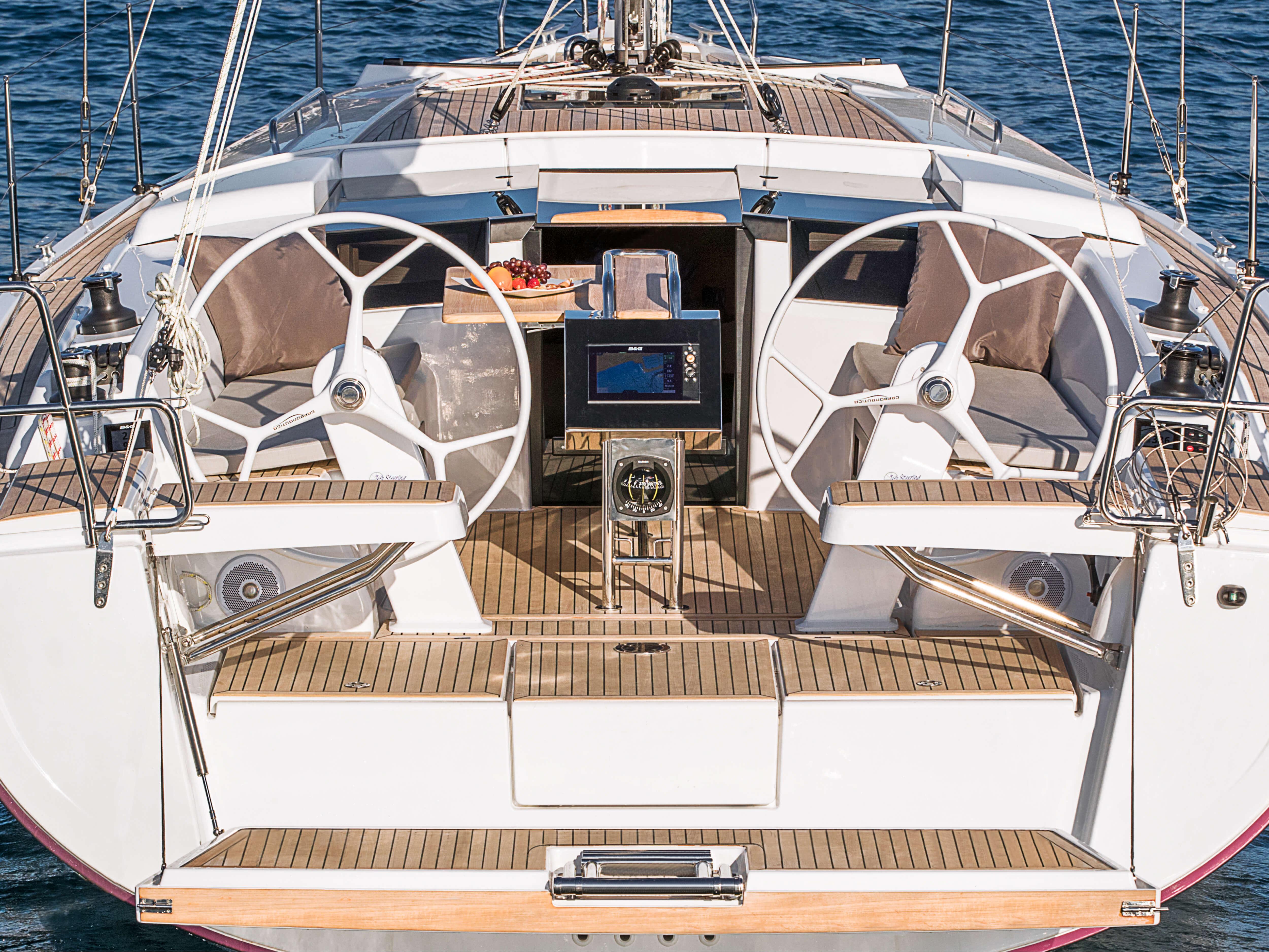 Hanse 388 | 船锚外观 | Hanse