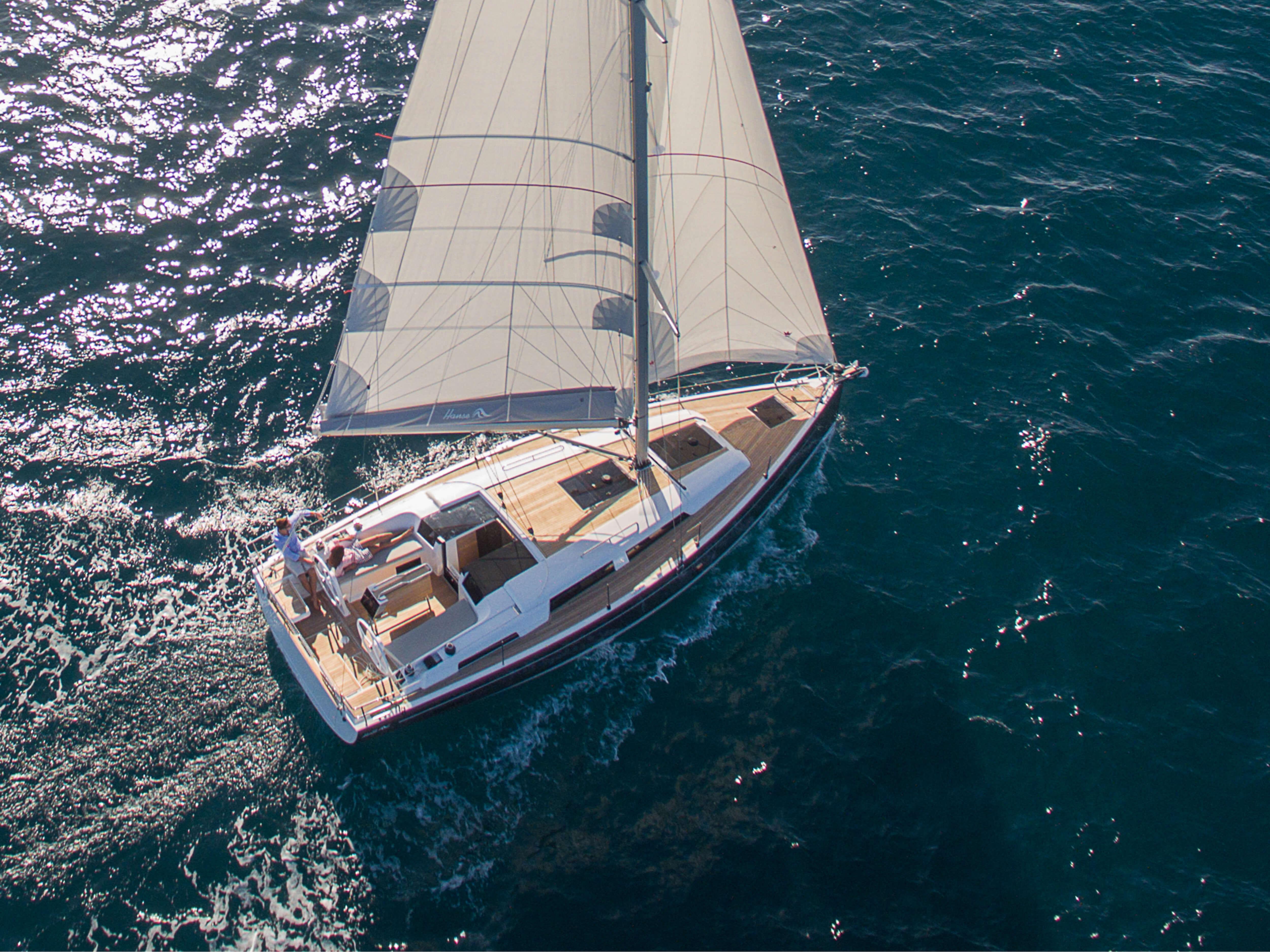Hanse 388 | 外部航行 | Hanse