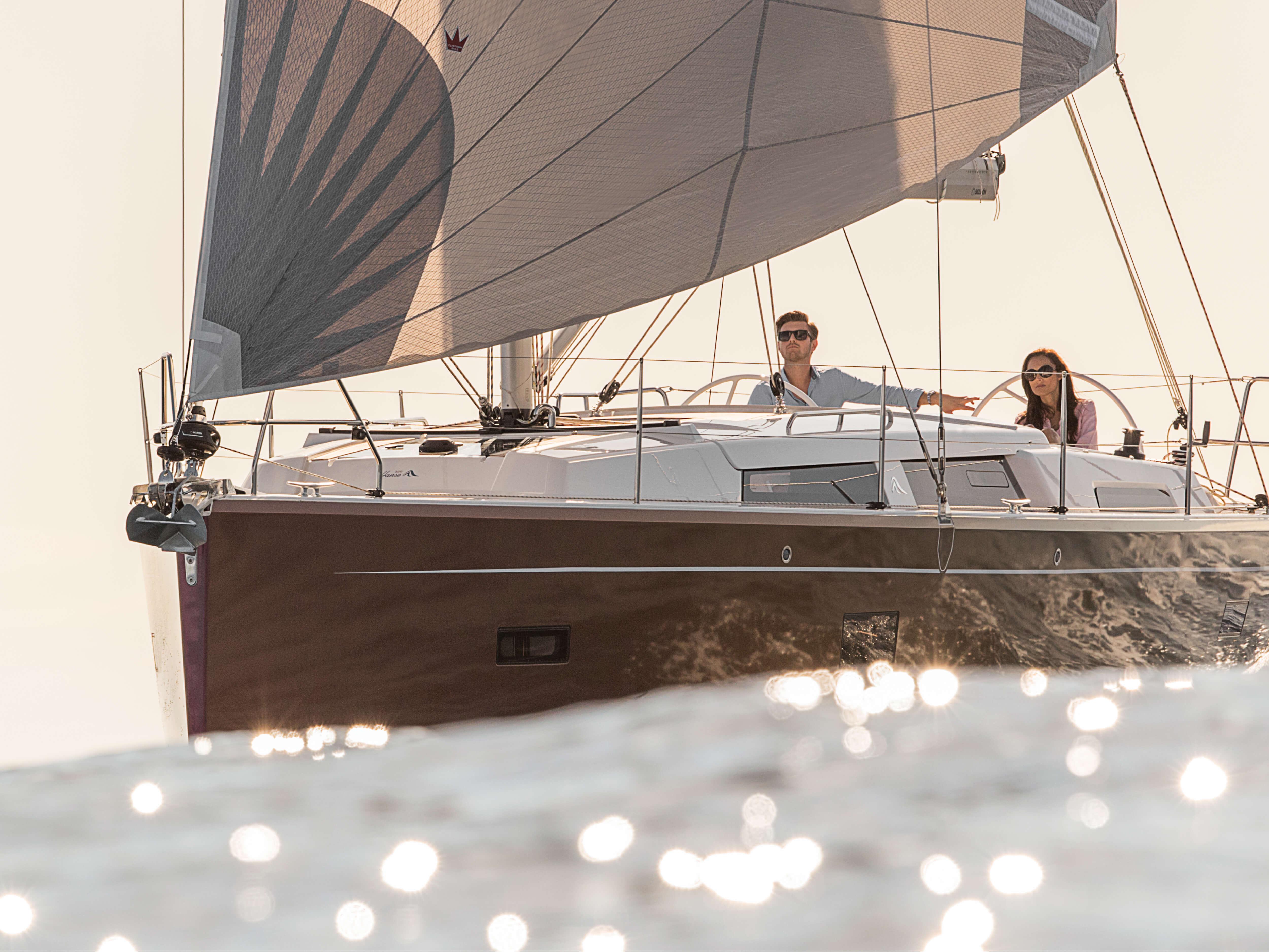 Hanse 388 | Exterior sailing | Hanse