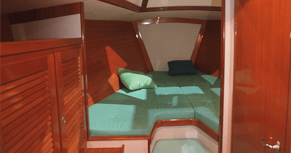 Hanse 401 Interior view owner´s cabin   Hanse