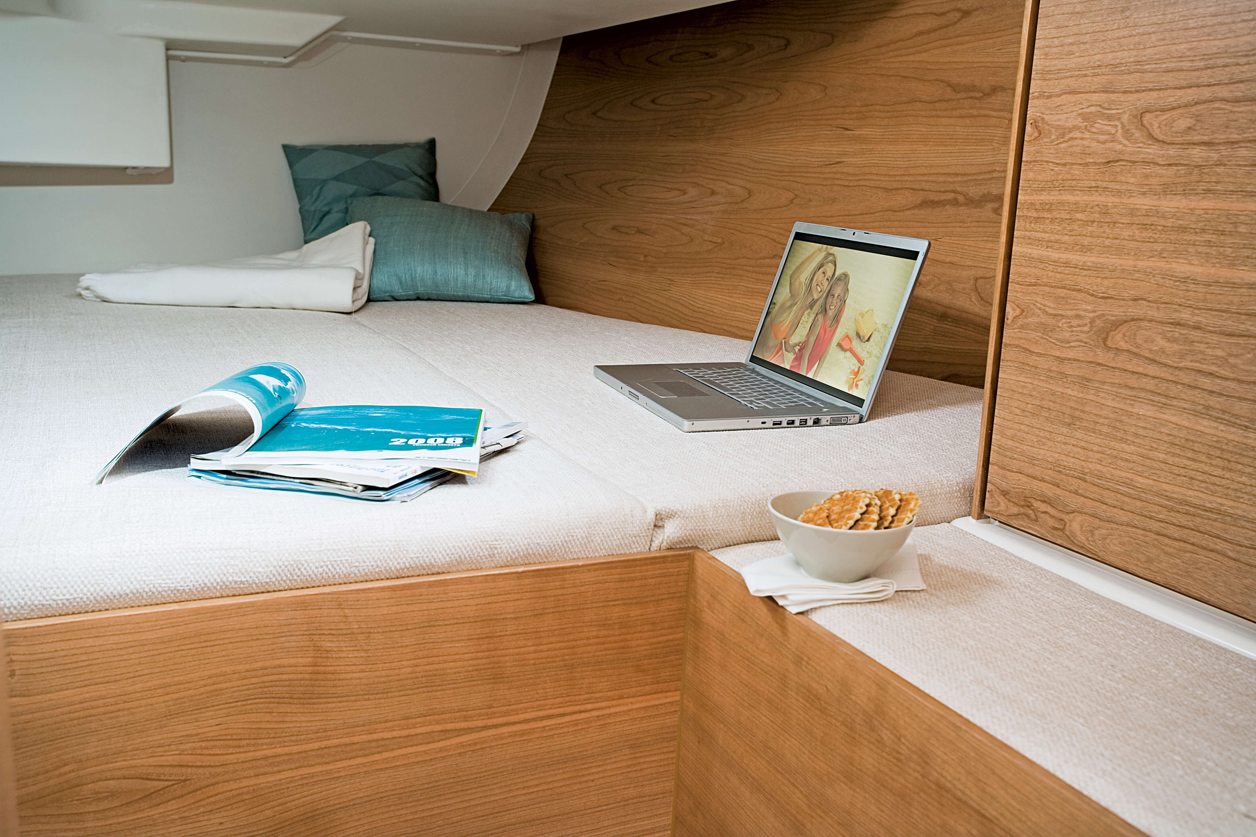 Hanse 430 Interior view owner´s cabin | Hanse