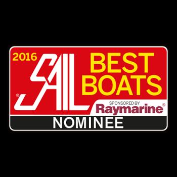 Hanse 455 Best Boats (Sail Magazine) 2016 | nominee | Hanse