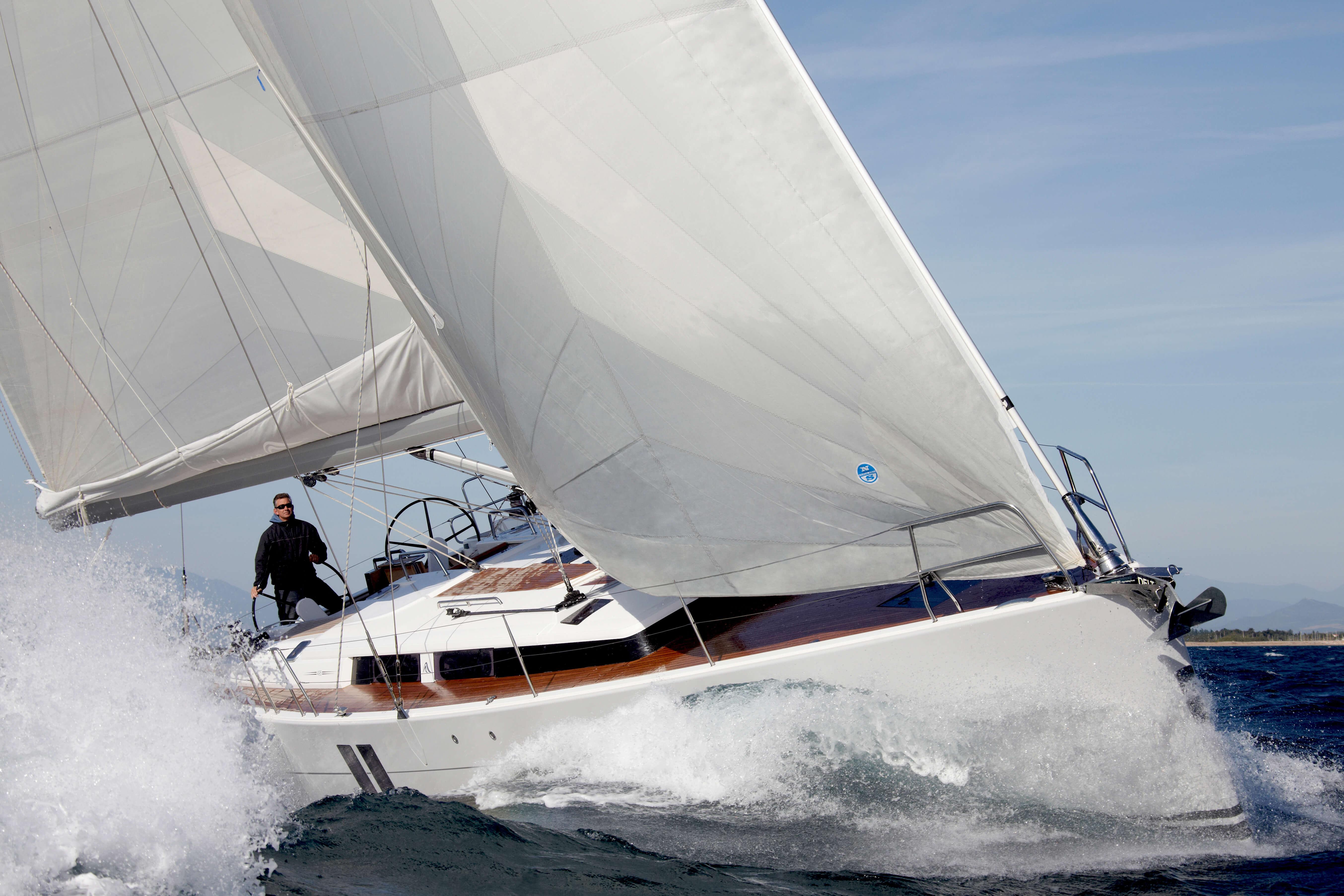 Hanse 495 Exterior Sailing | Hanse