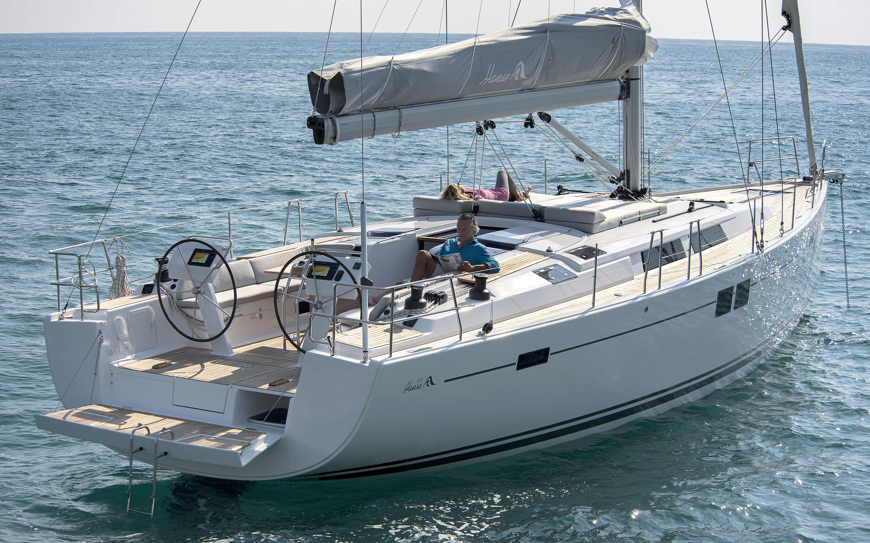 Hanse 505 Exterieur | Яхты Hanse восхищают своим современным, функциональным дизайном | Hanse