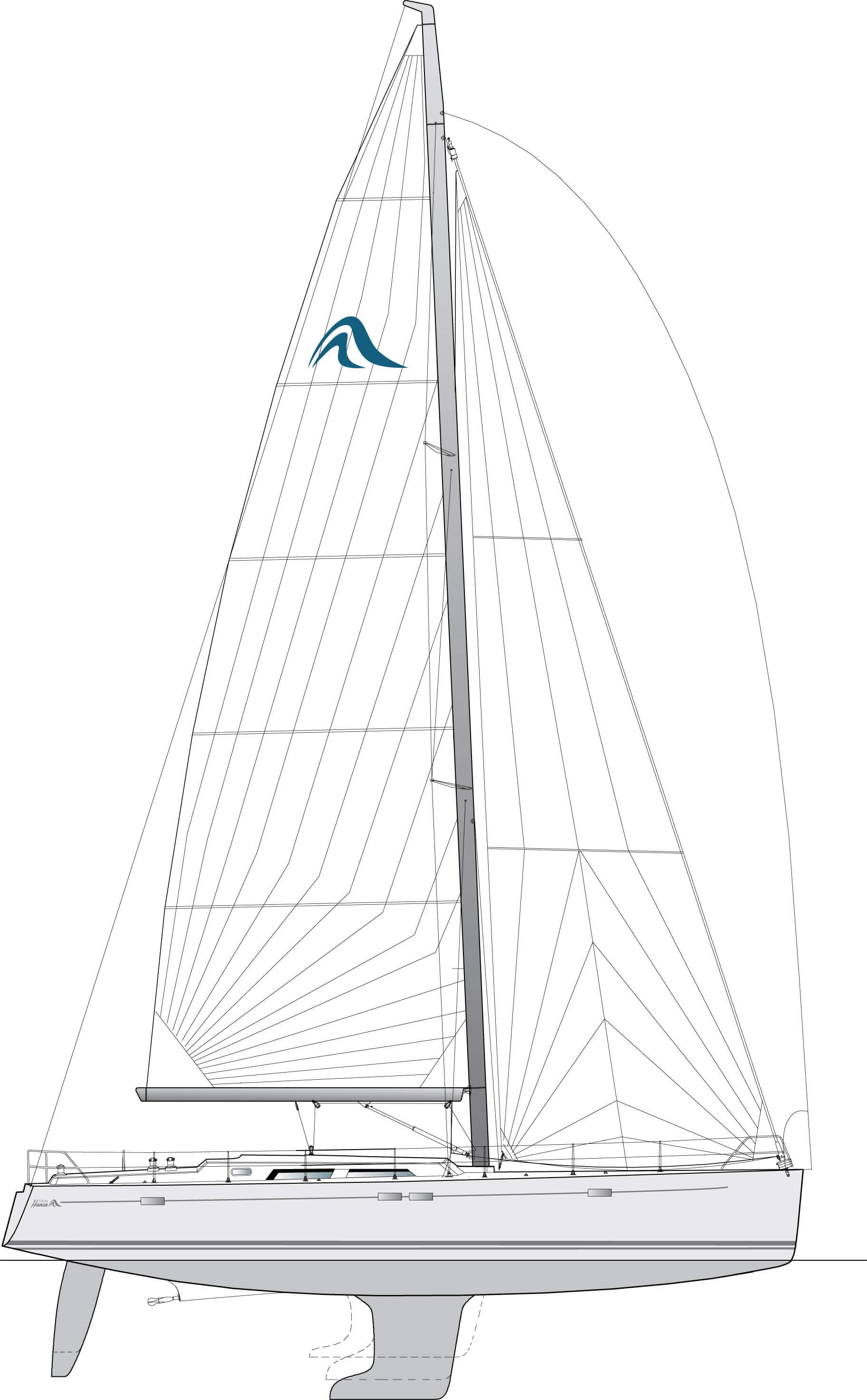 Hanse 540e Exterieur | Hanse
