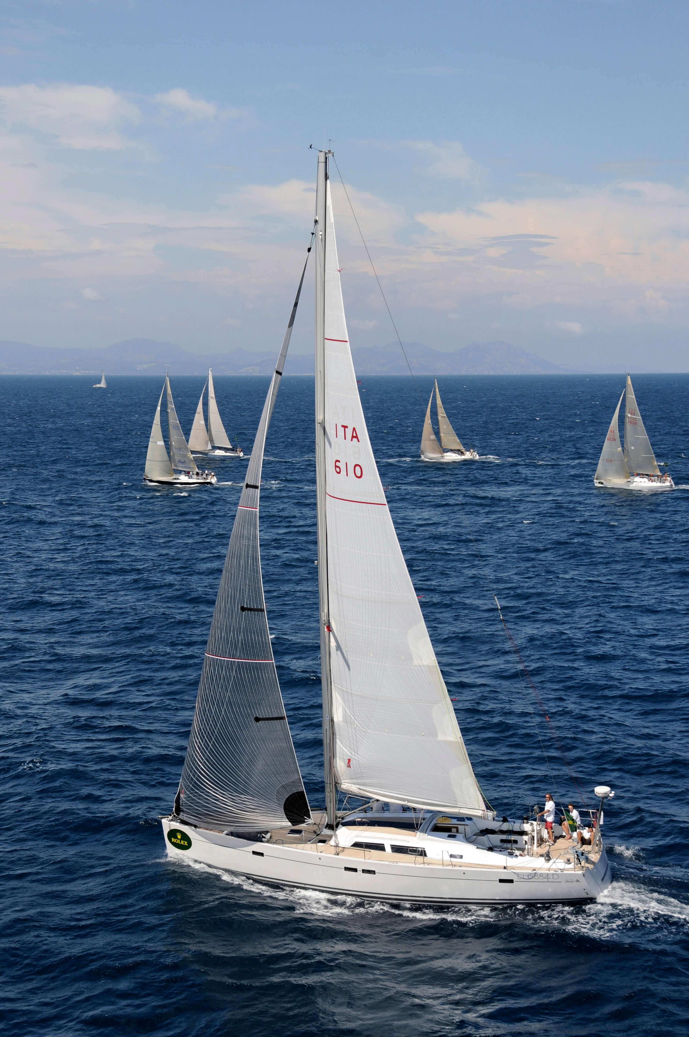 Hanse 540e Exterior Sailing | Hanse