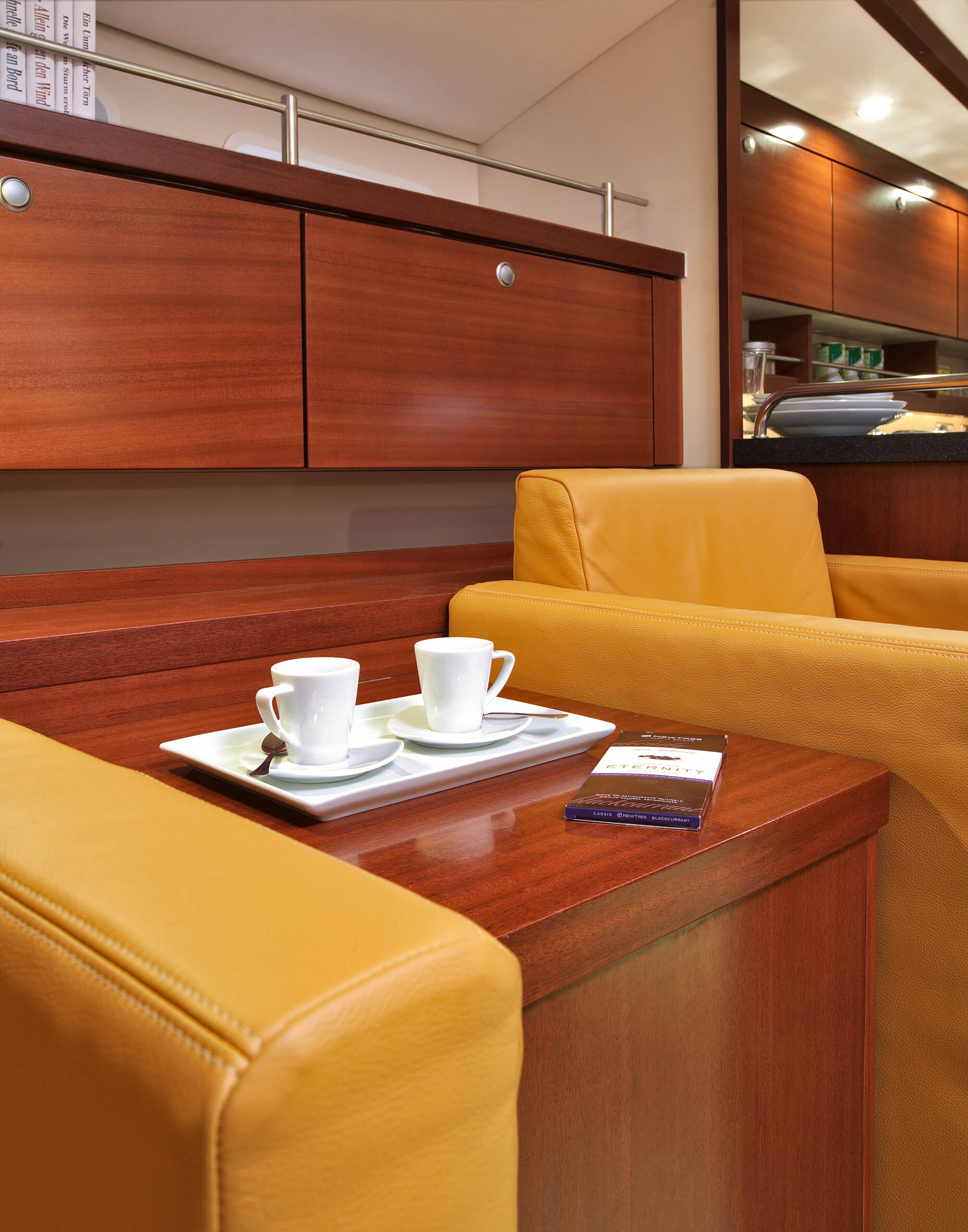 Hanse 540e Interior view lounge | Hanse