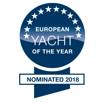 Hanse 548 European Yacht of the Year 2018 | Category Family Cruiser - nominated | Hanse
