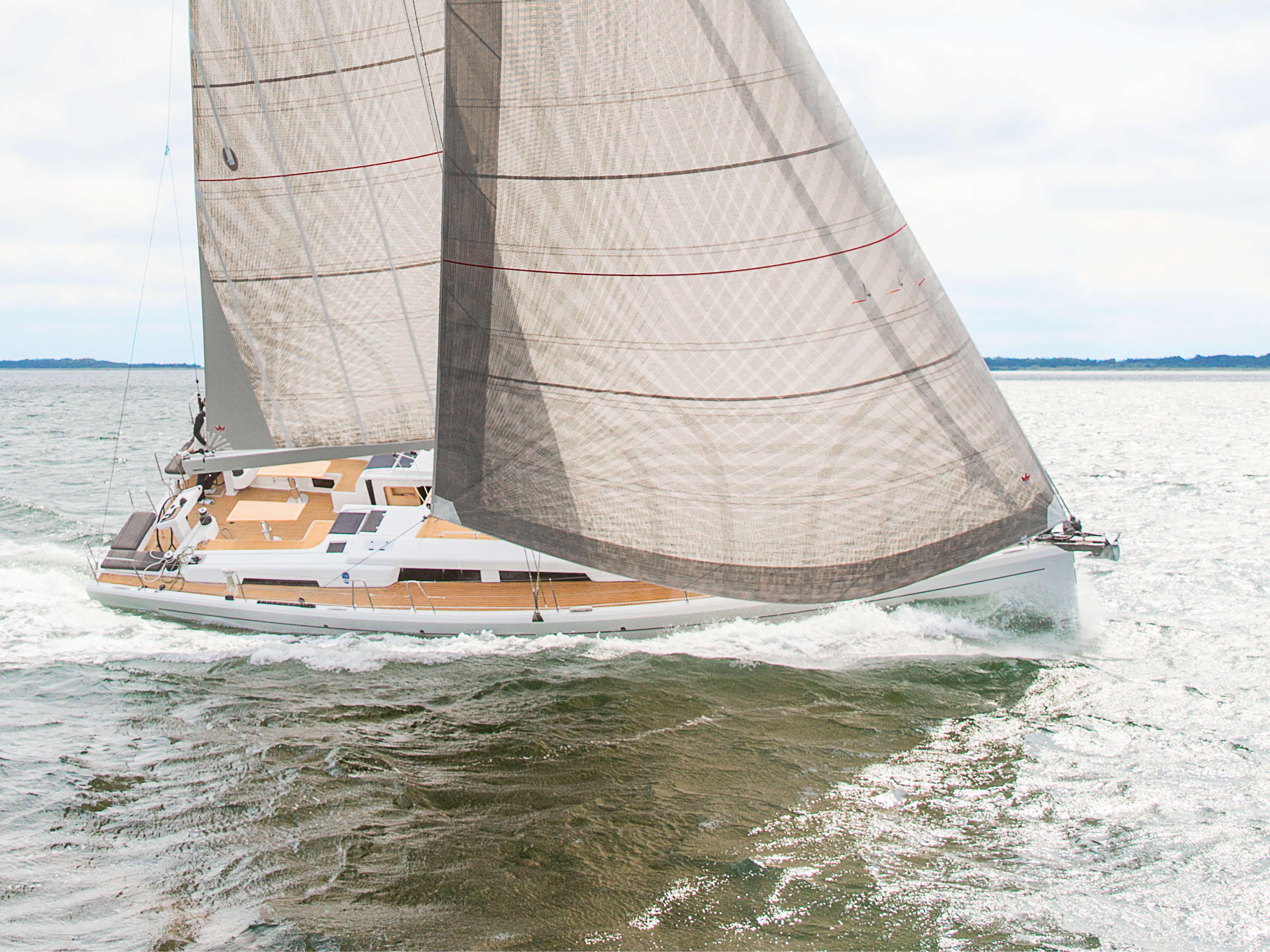Hanse 548 | Exterior Sailing | Hanse