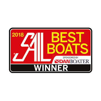 Hanse 588 Best Boats (Sail Magazine) 2018 | Winner Best Large Monohull 50ft and above | Hanse