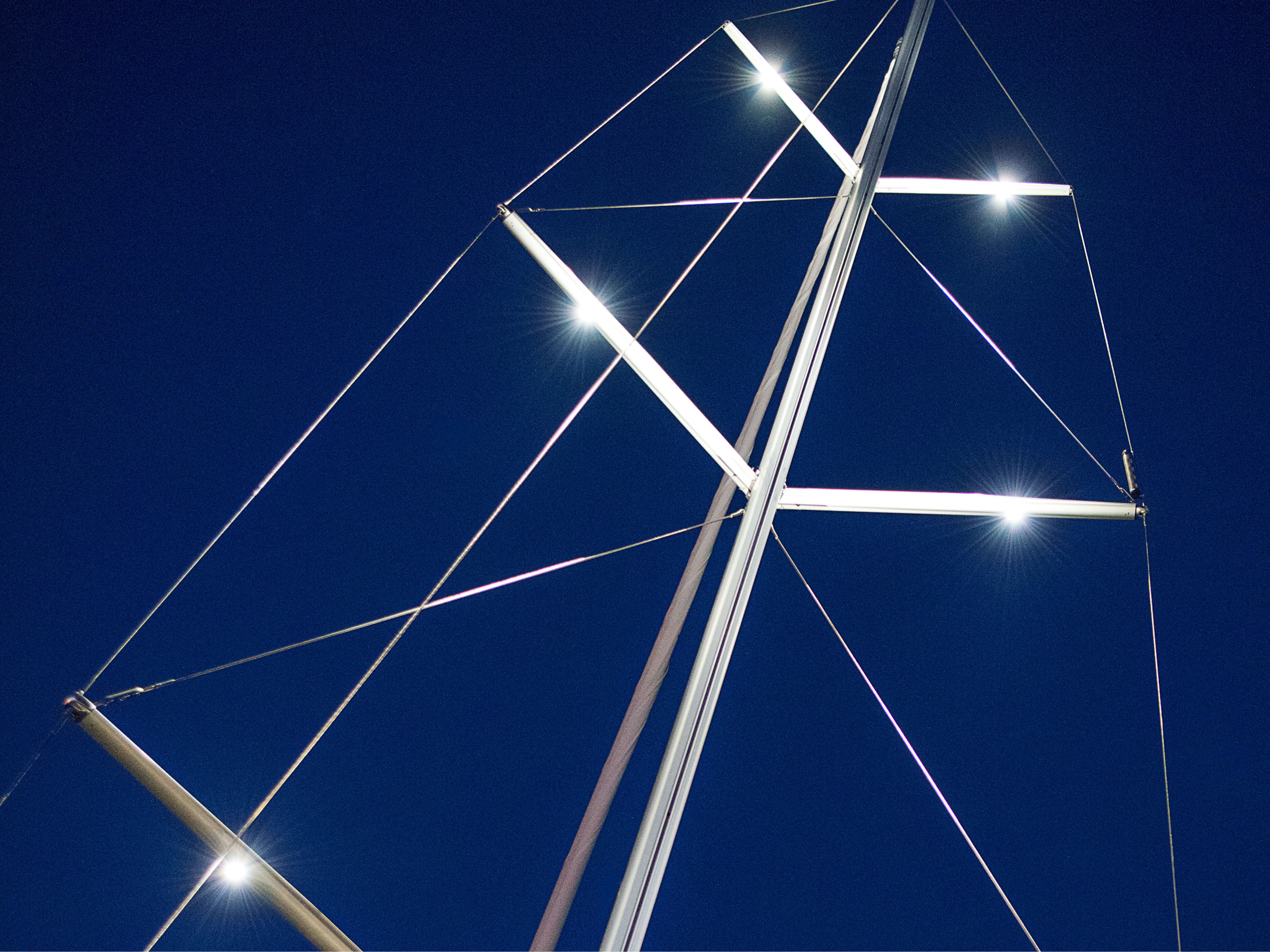 Hanse 588 Exterior view | Mast, spreaders | Hanse