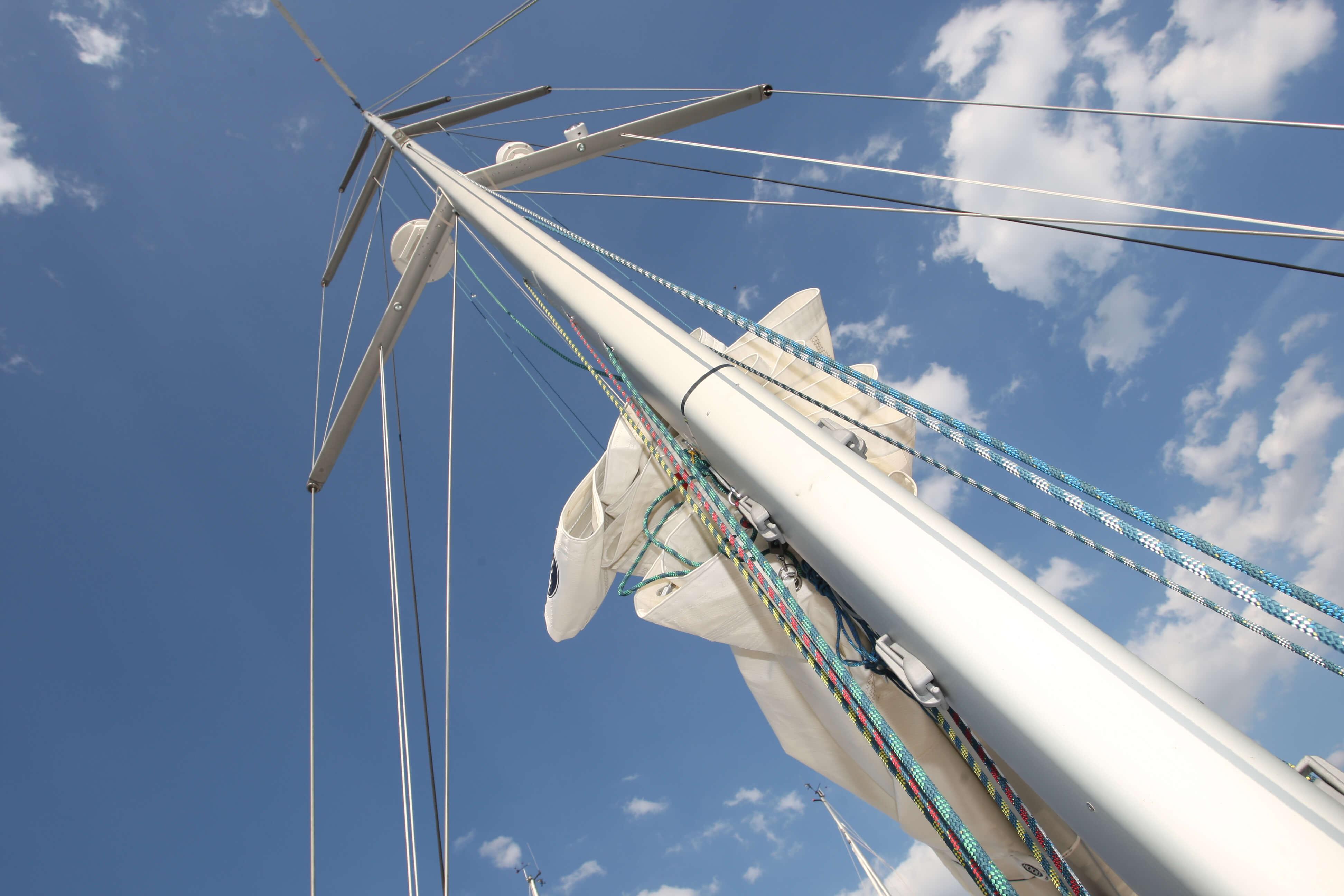Hanse 630e Exterior Mast | Hanse