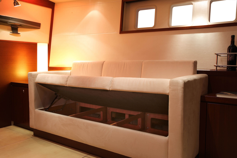 Hanse 630e Interior view lounge | Hanse